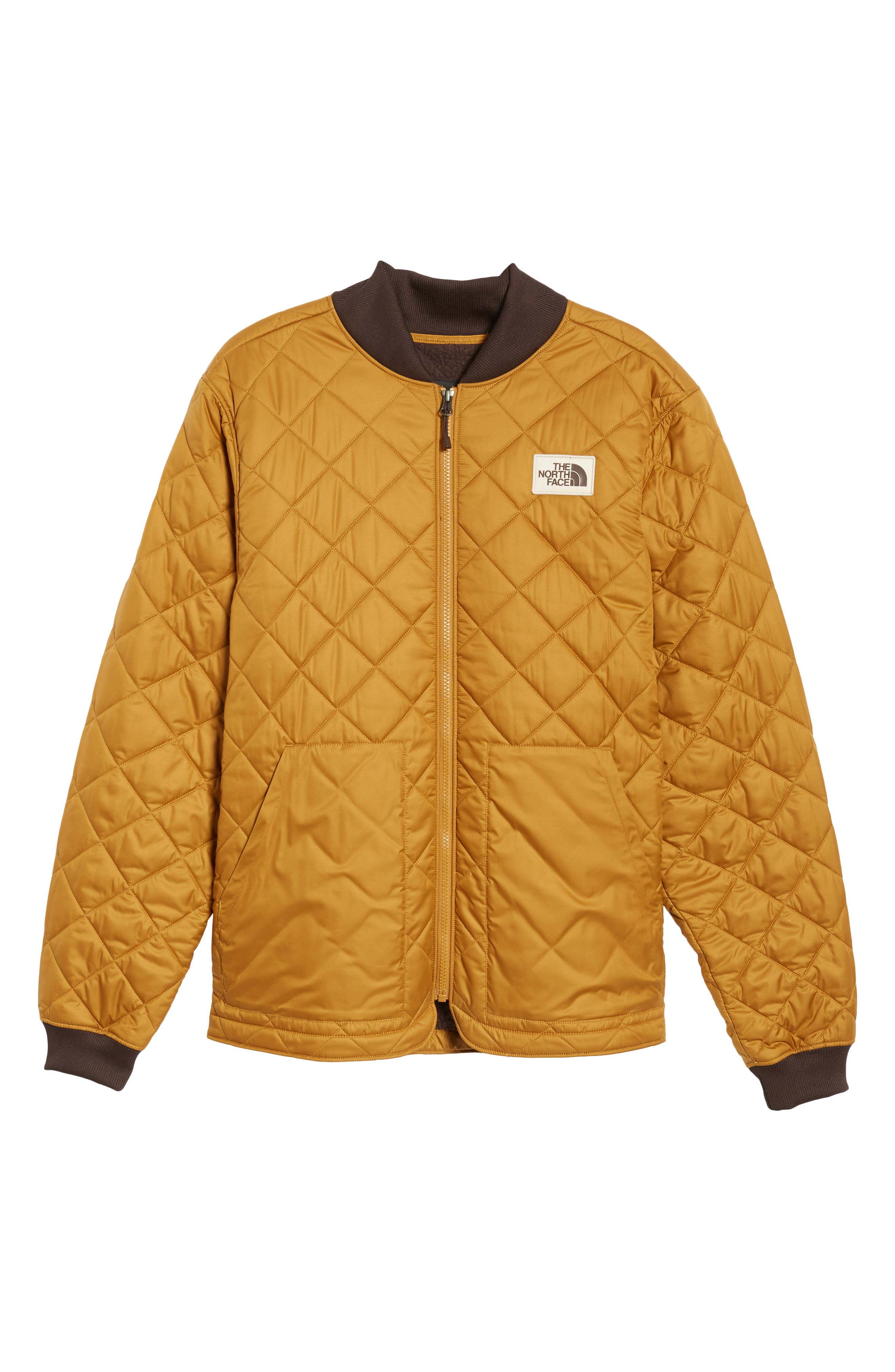 Cuchillo Insulated Jacket,                             Alternate thumbnail 6, color,                             Golden Brown