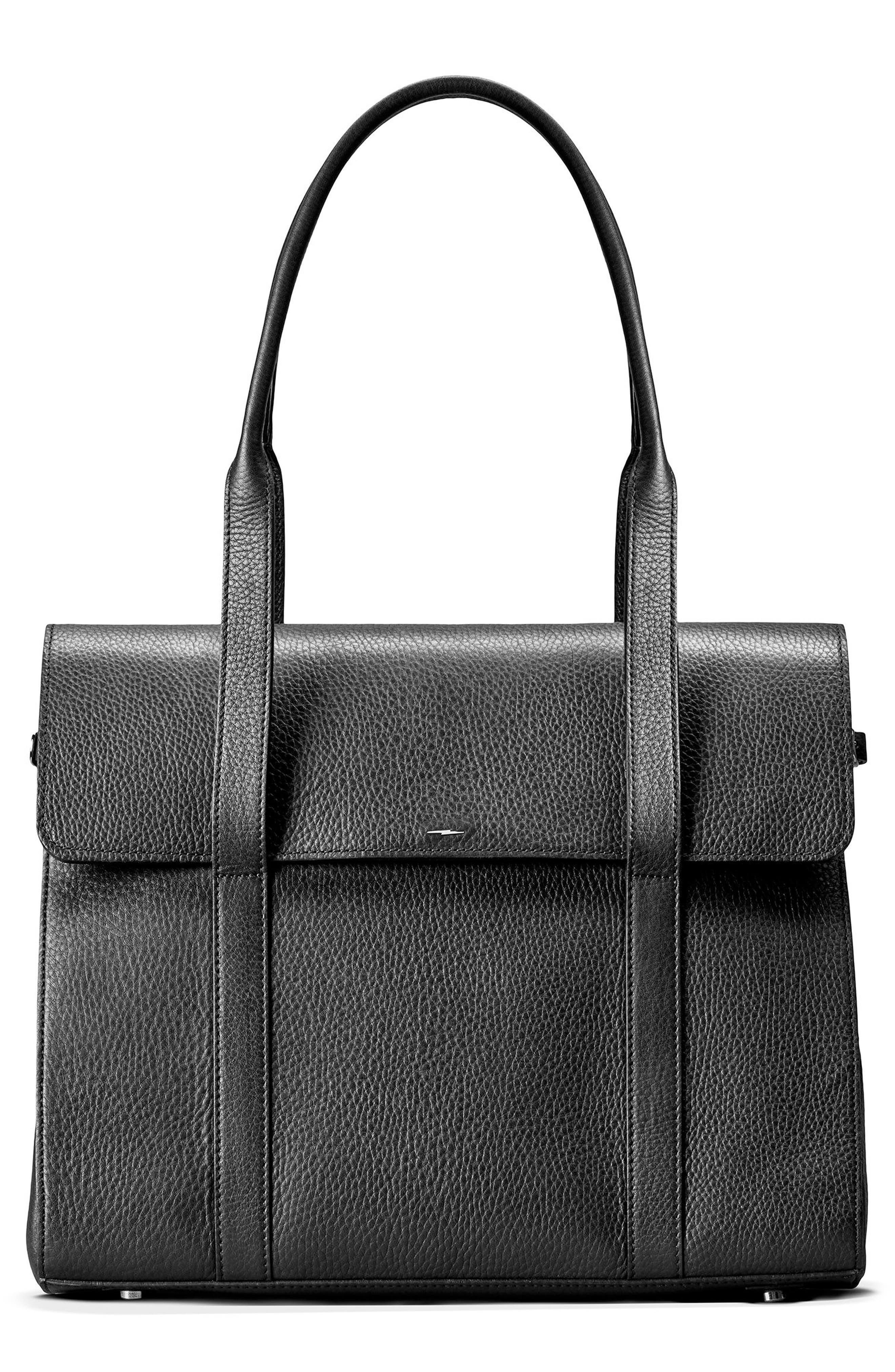 Shinola Calfskin Leather Satchel