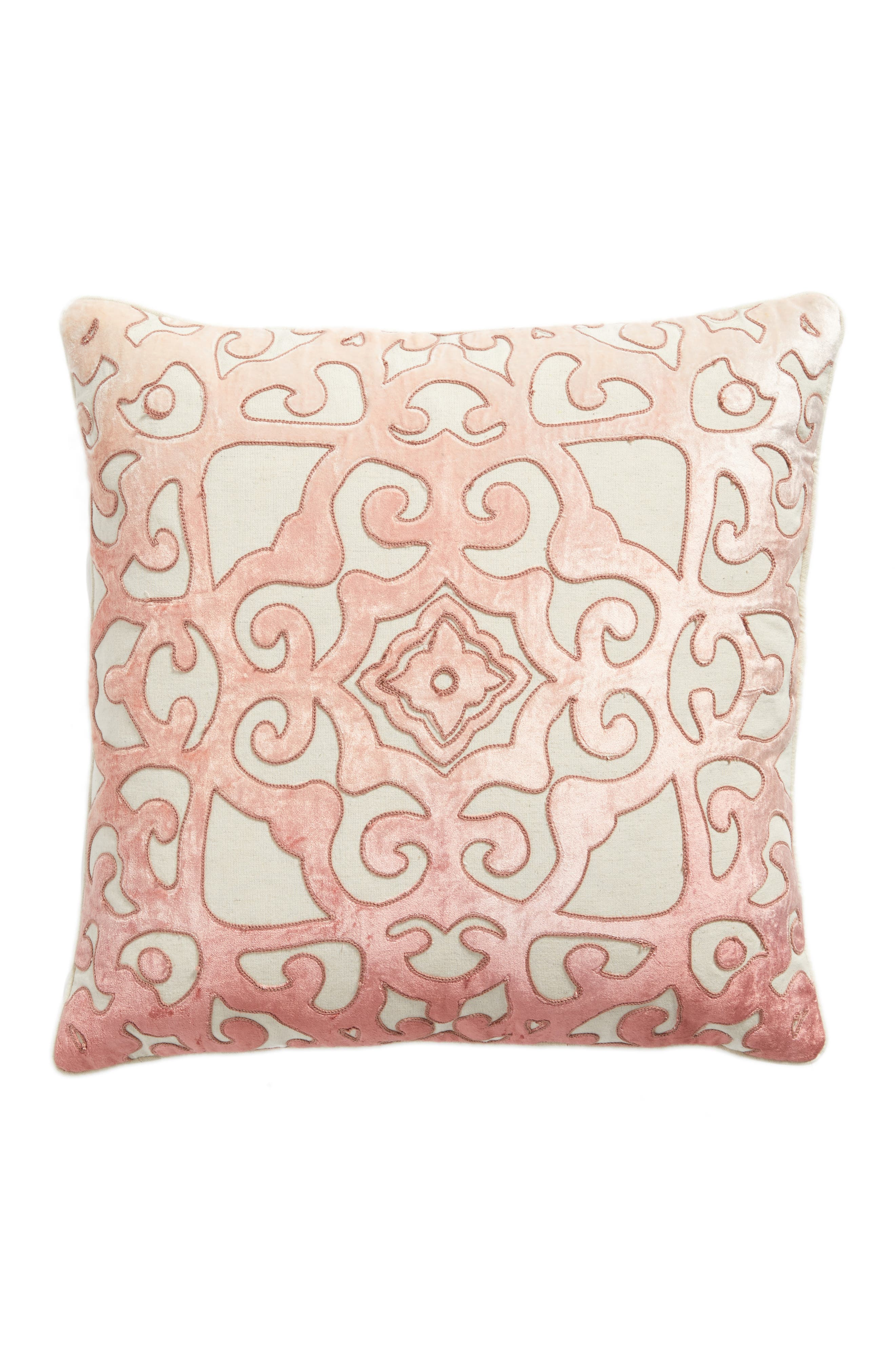 Nordstrom at Home Velvet Cutout Accent Pillow