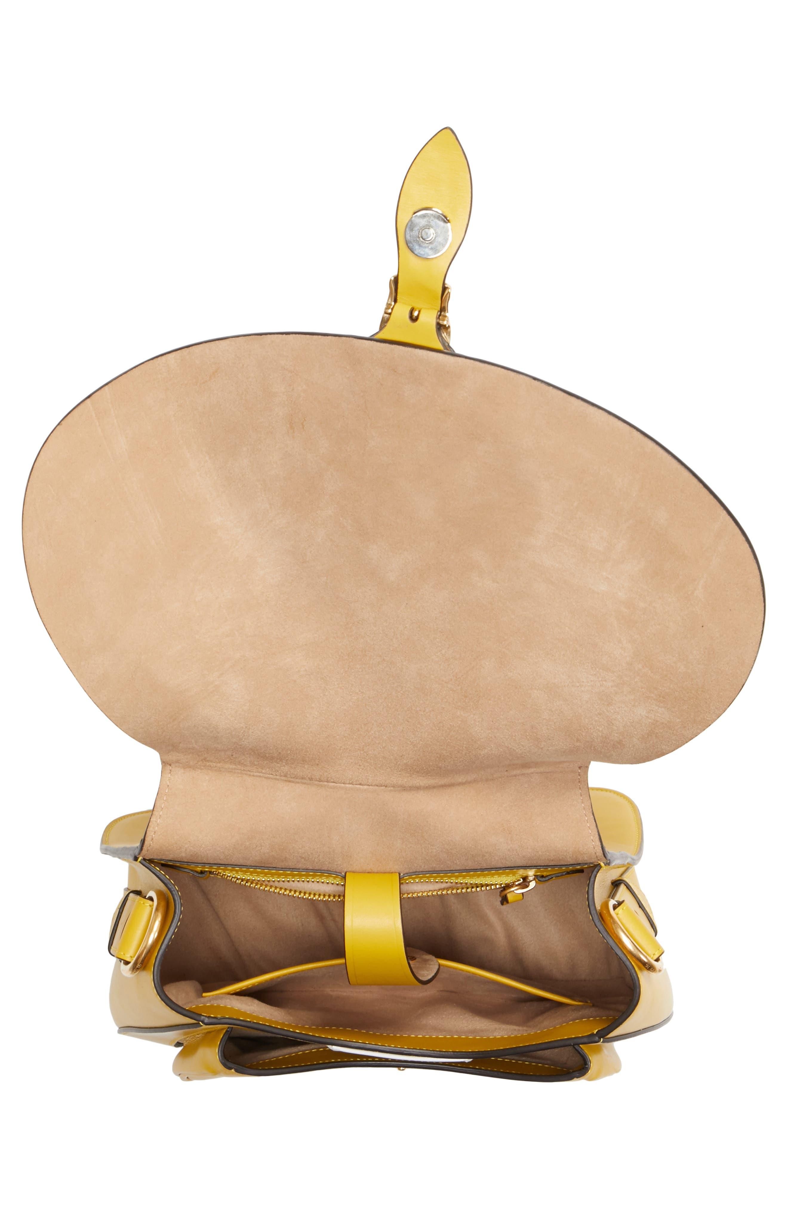 Alternate Image 4  - Maison Margiela Large Bag Slide Leather Saddle Bag