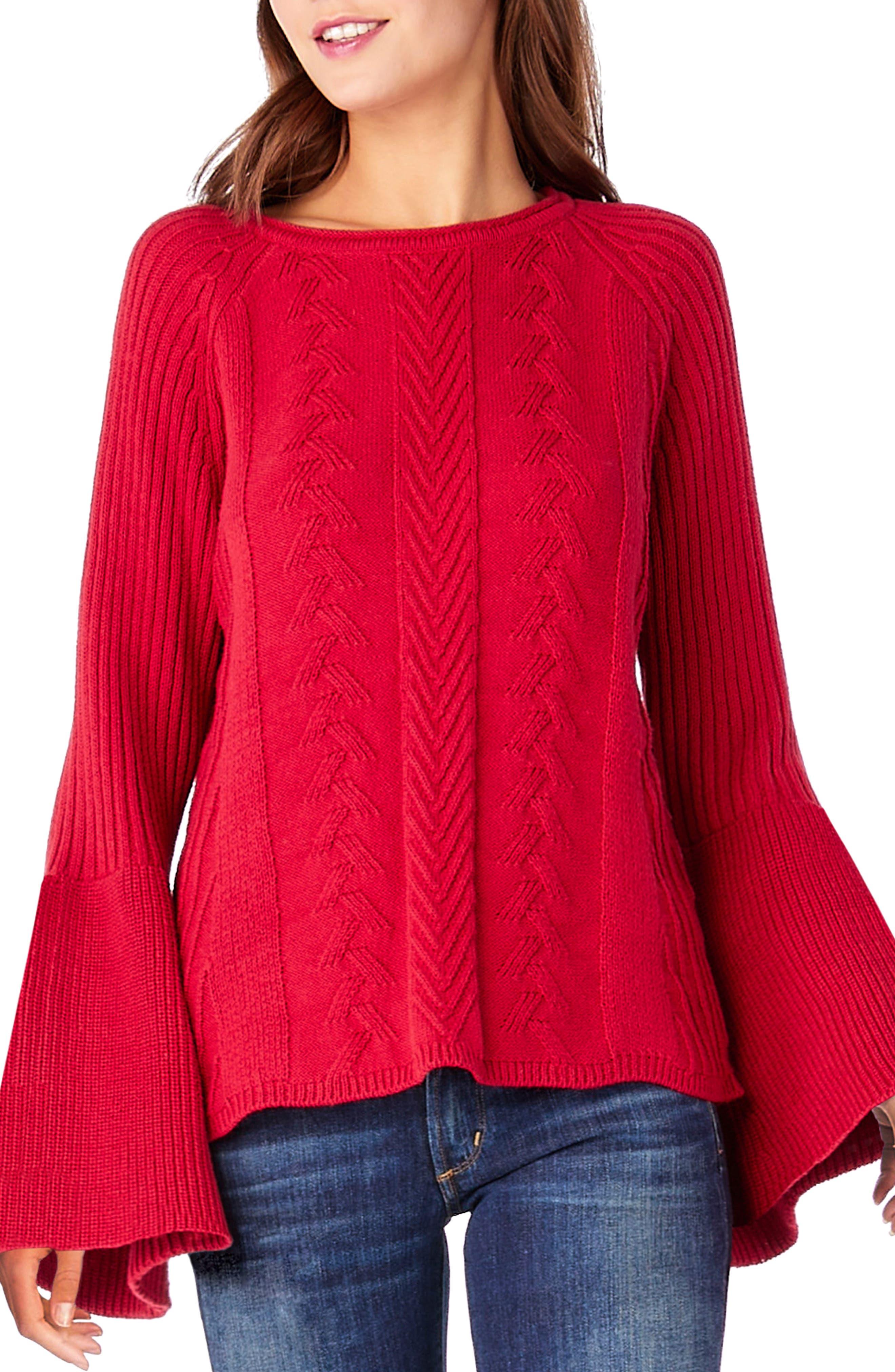 Michael Stars Bell Sleeve Knit Sweater