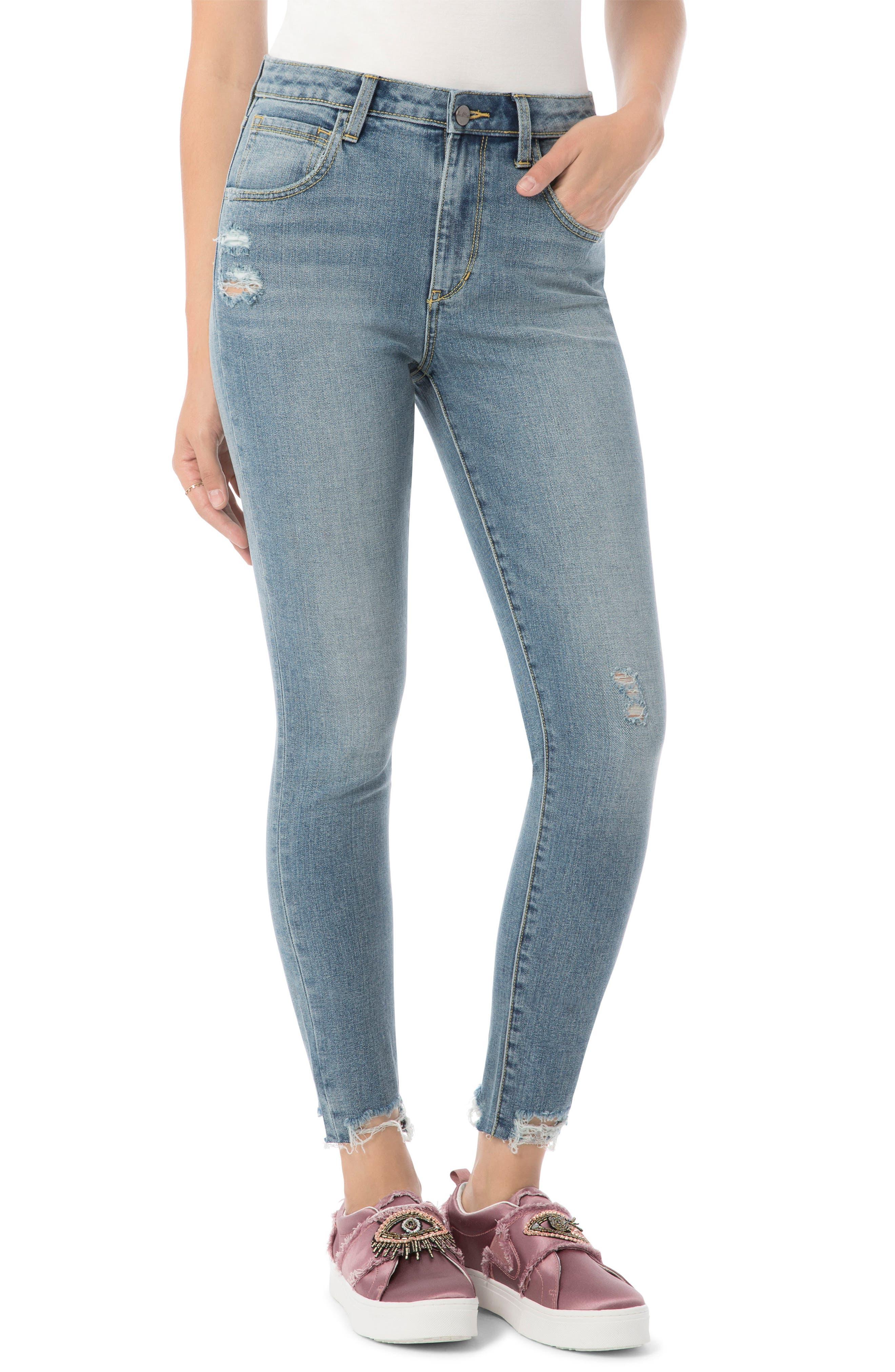 Main Image - Sam Edelman The Stilletto Skinny High-Waist Jeans (Ainsley)