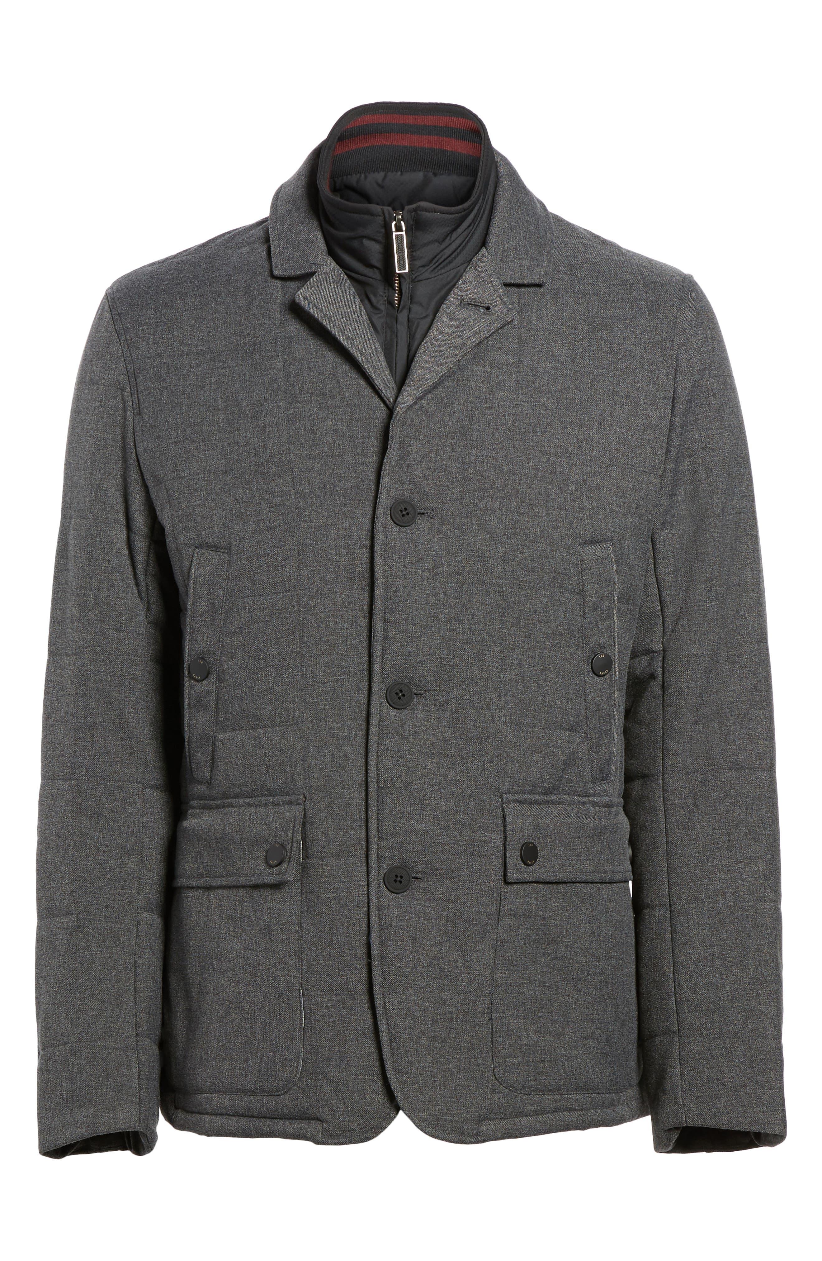 Alternate Image 6  - Ted Baker London Jaycie Inset Bib Quilted Jacket