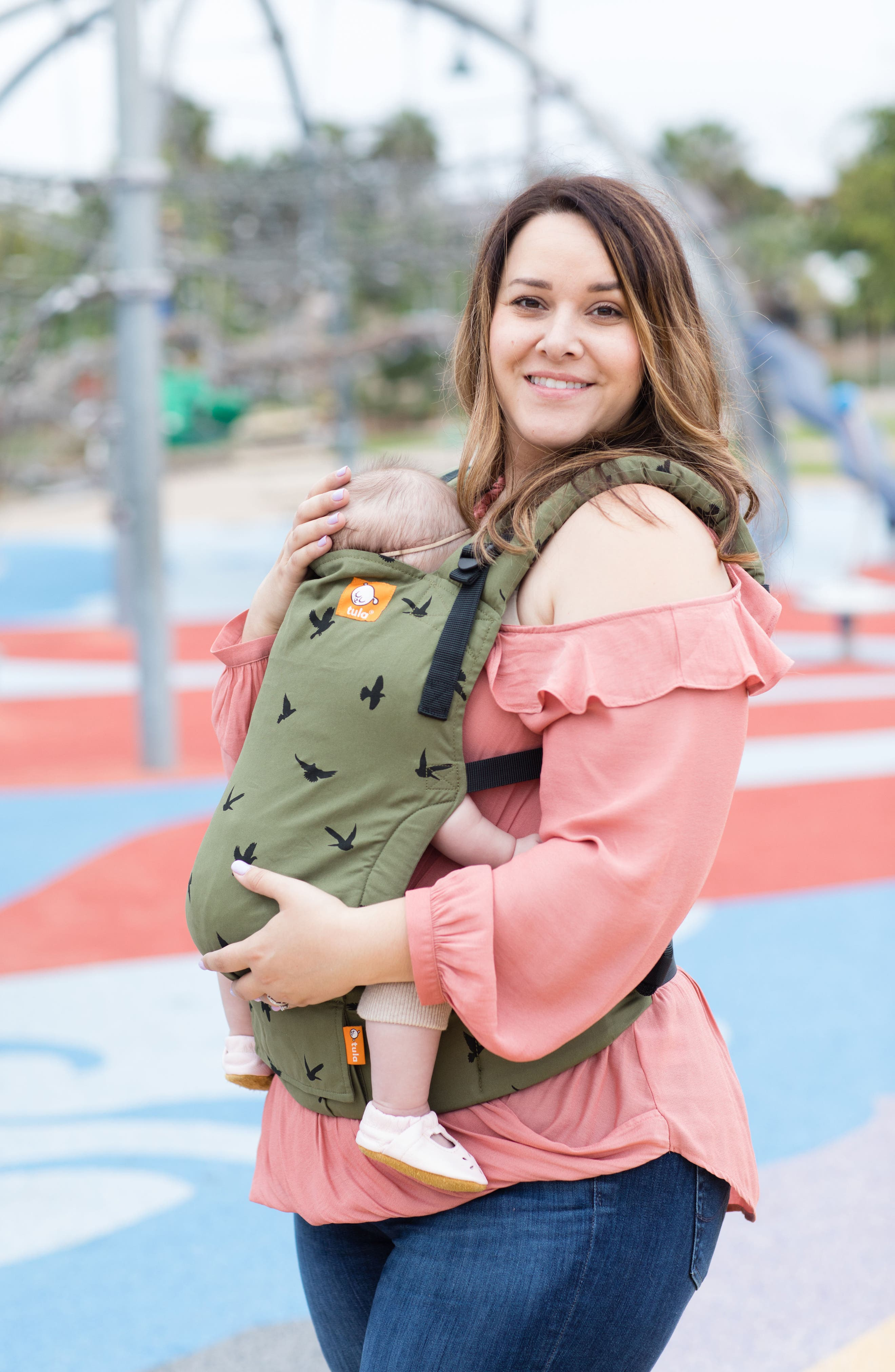 Alternate Image 7  - Baby Tula Soar Free-to-Grow Baby Carrier