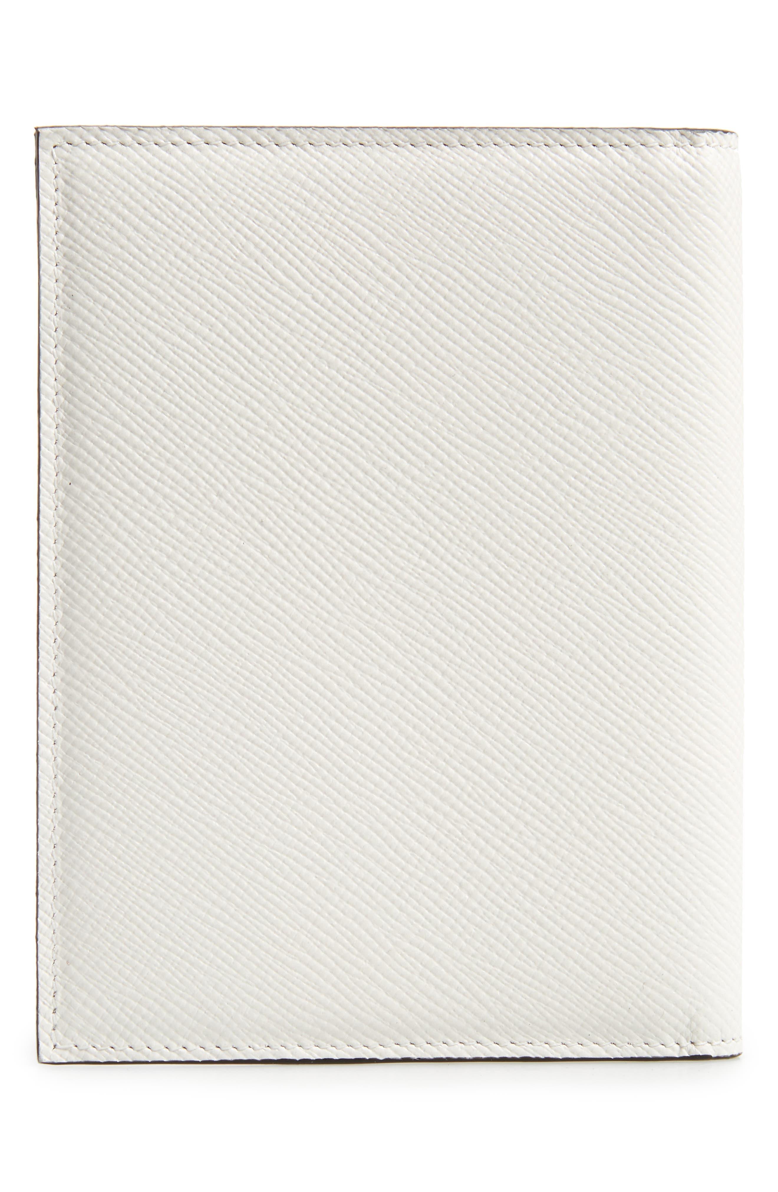 Alternate Image 3  - Serapian Milano Evolution Leather Passport Case