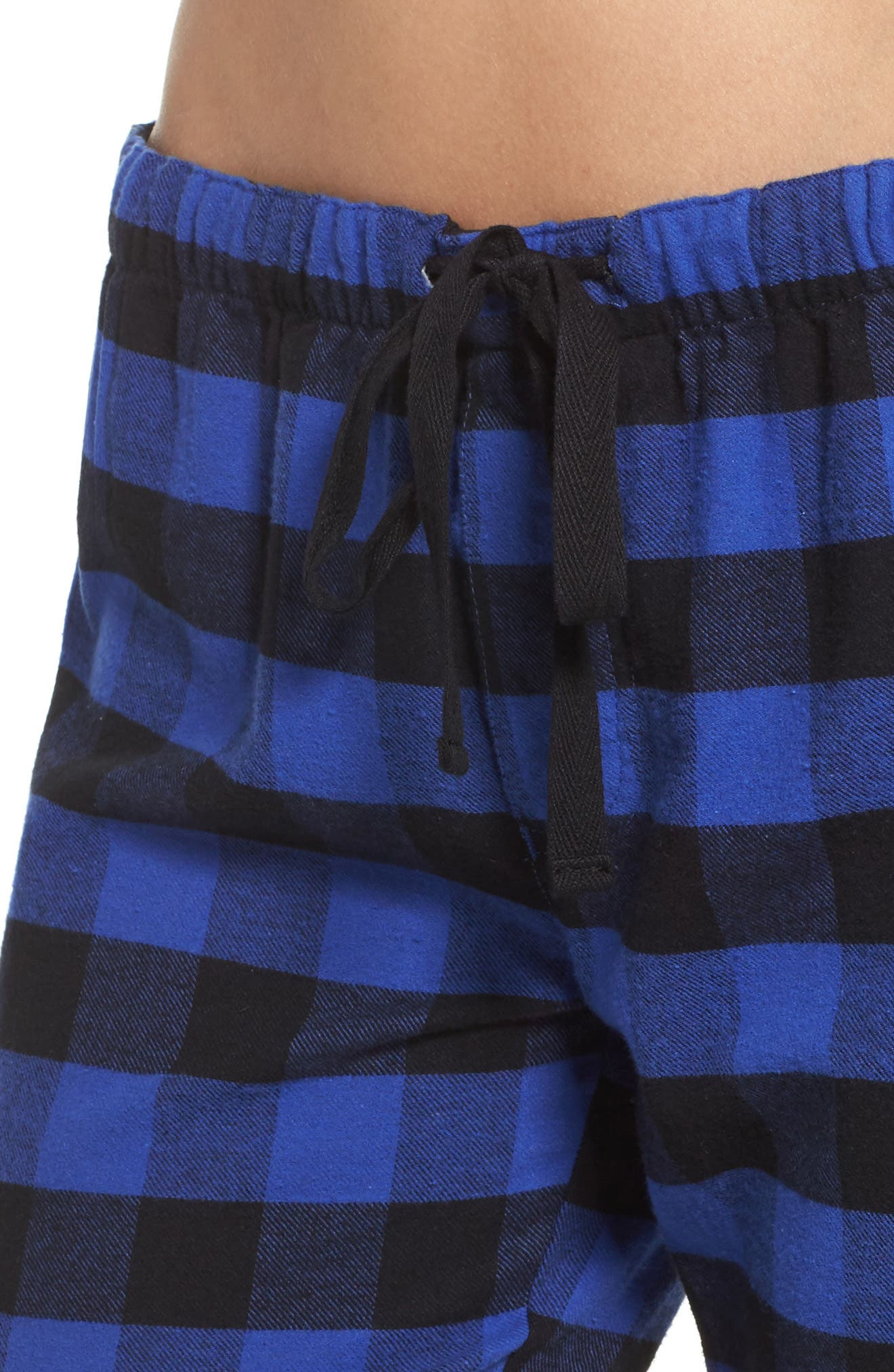 Pajama Pants,                             Alternate thumbnail 4, color,                             Royal