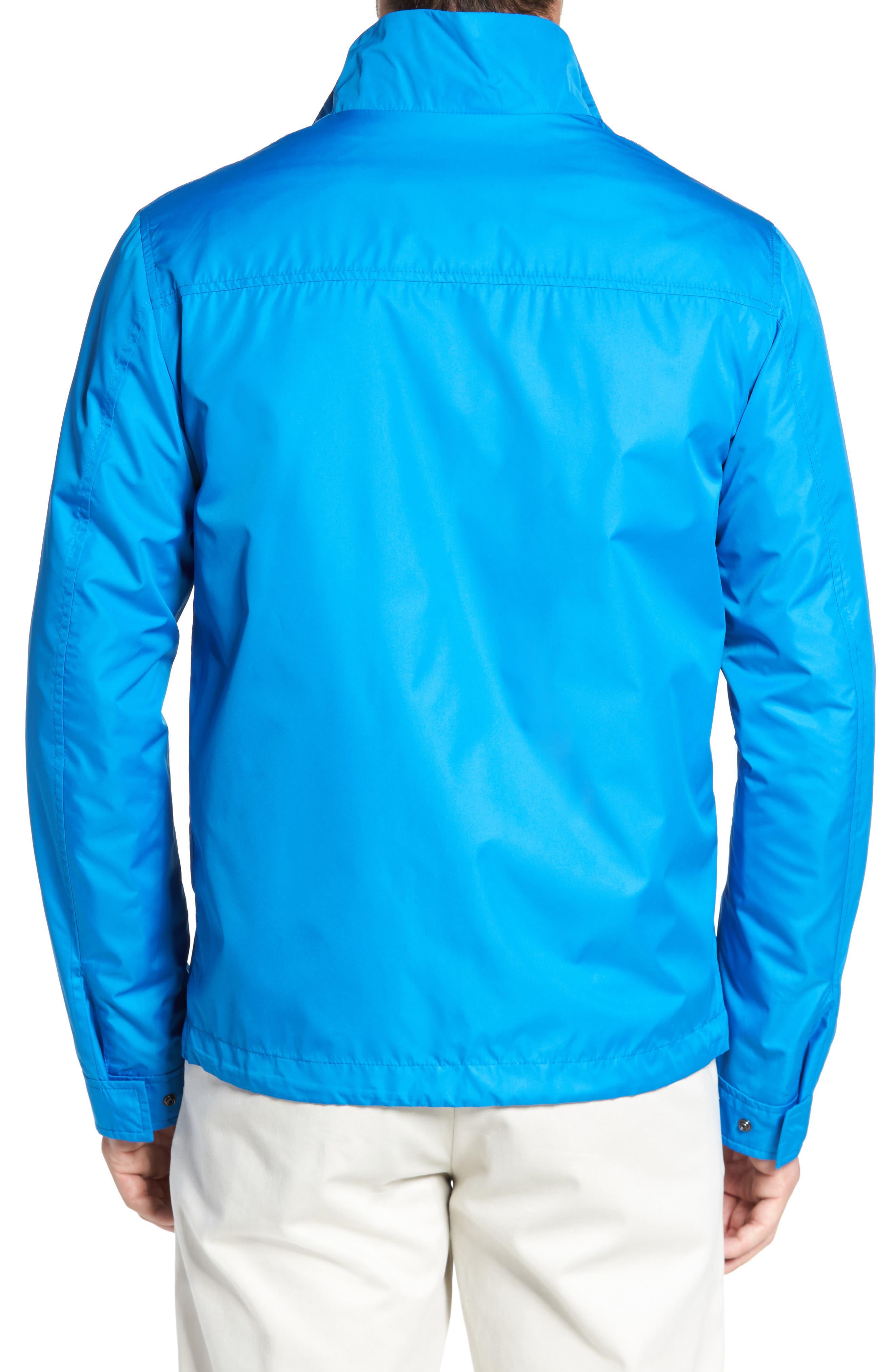Paul&Shark Water Repellent Jacket,                             Alternate thumbnail 2, color,                             Cobalt