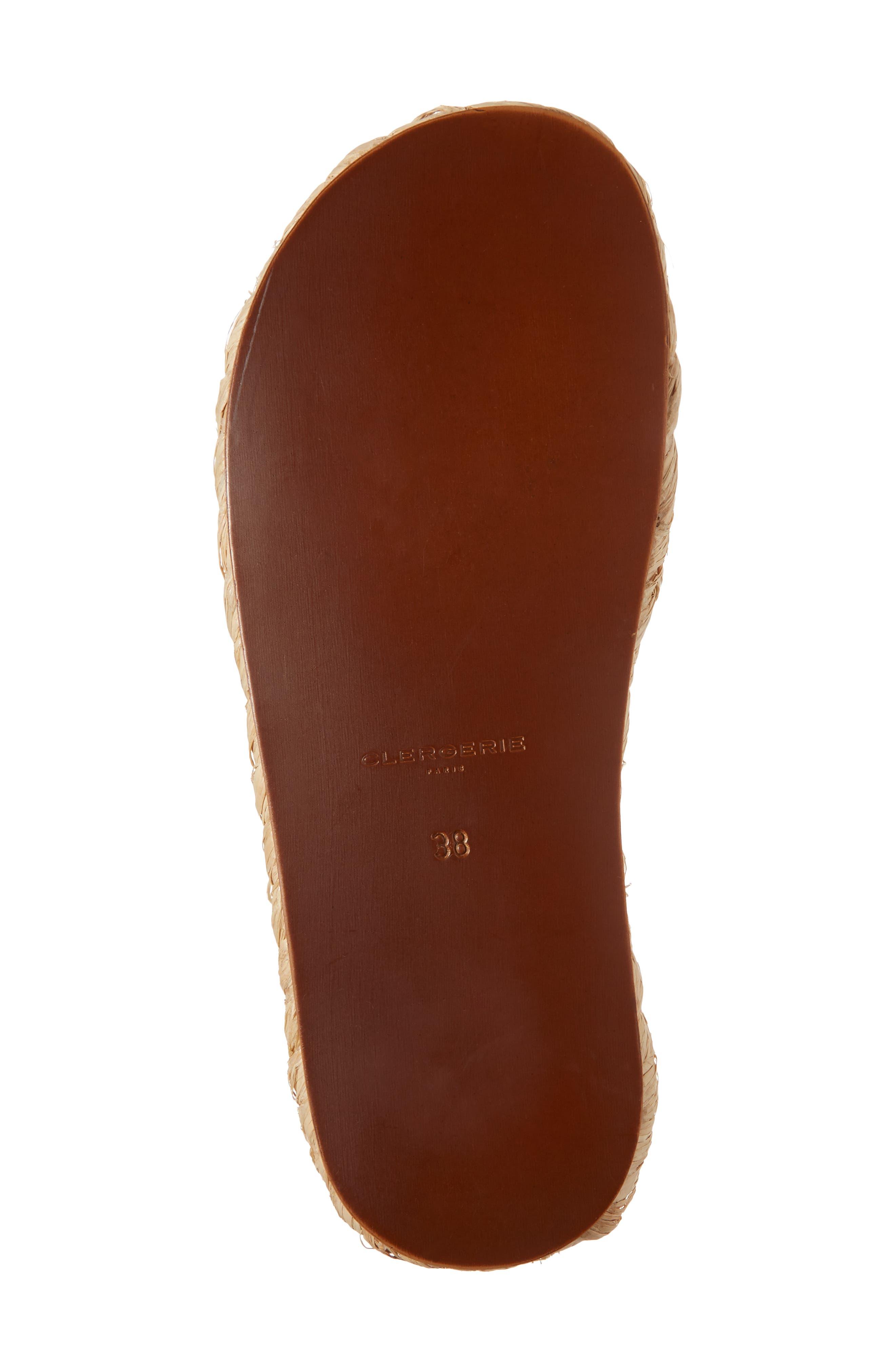 Idalie Woven Slide Sandal,                             Alternate thumbnail 6, color,                             Tan