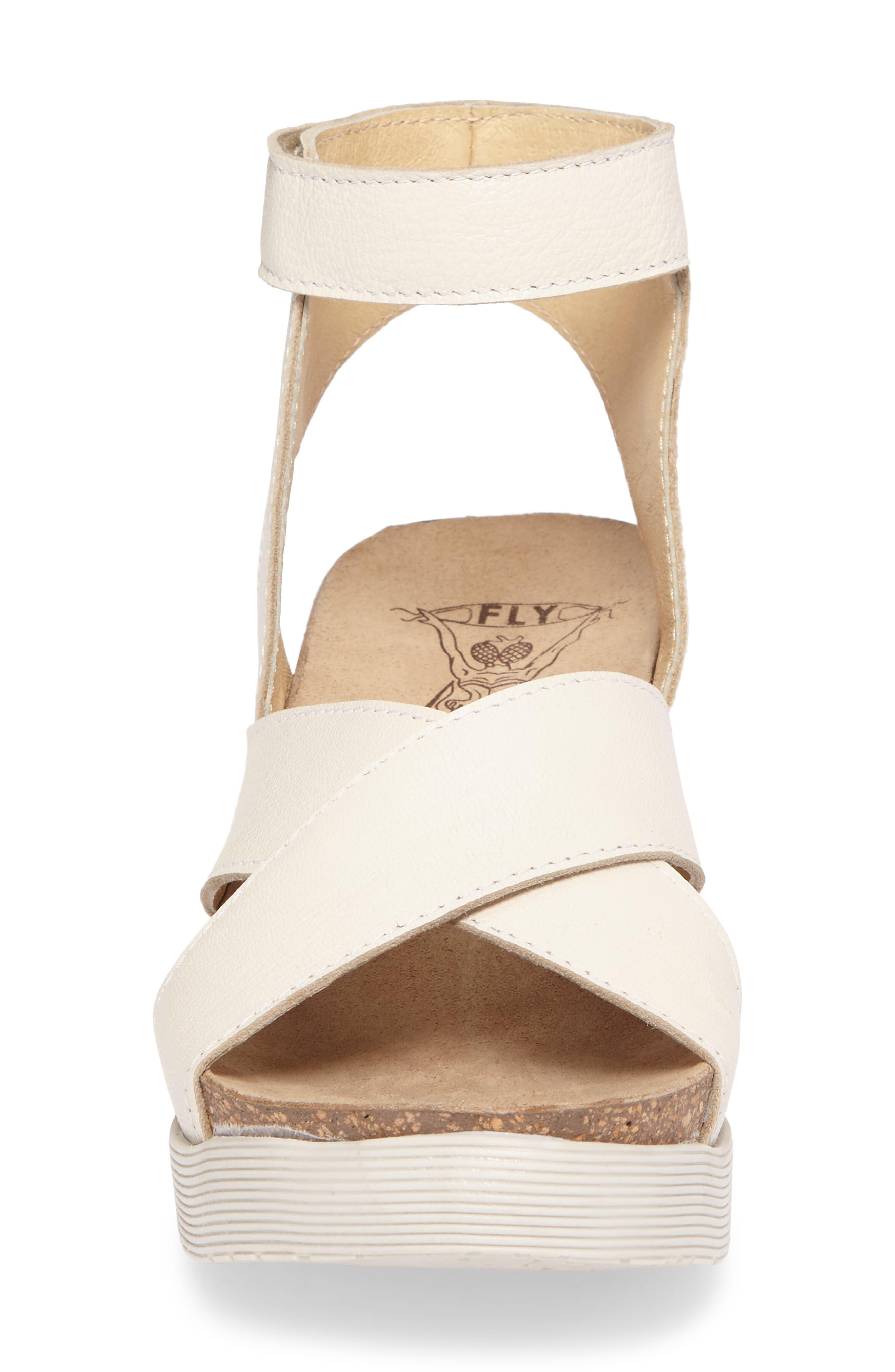 Alternate Image 4  - Fly London Weel Nubuck Leather Platform Sandal (Women)