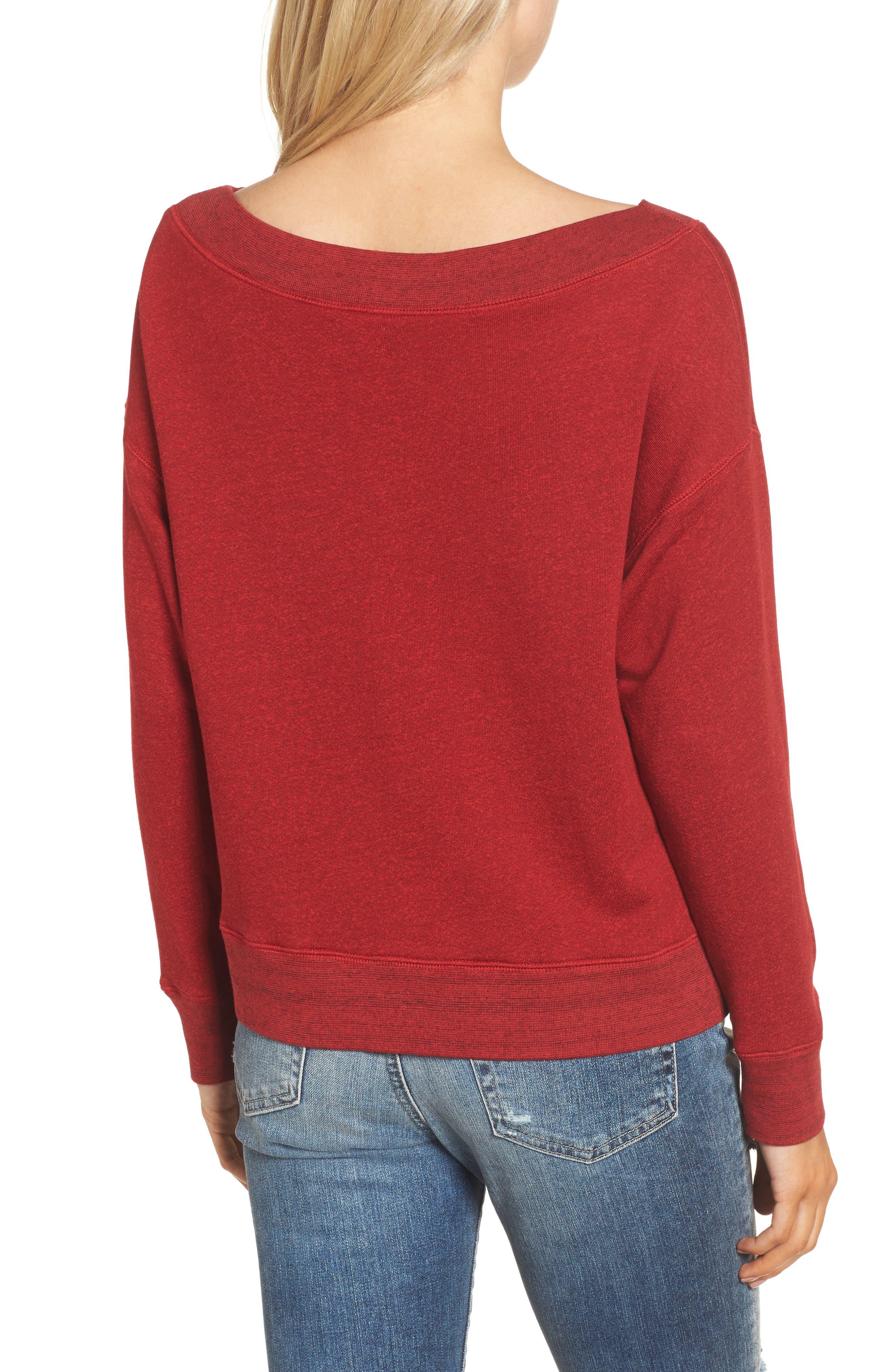 Alternate Image 2  - Sundry Sleigh All Day Sweatshirt (Nordstrom Exclusive)