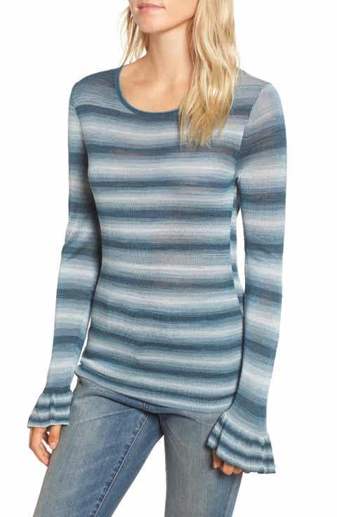 Hinge Gradient Stripe Sweater
