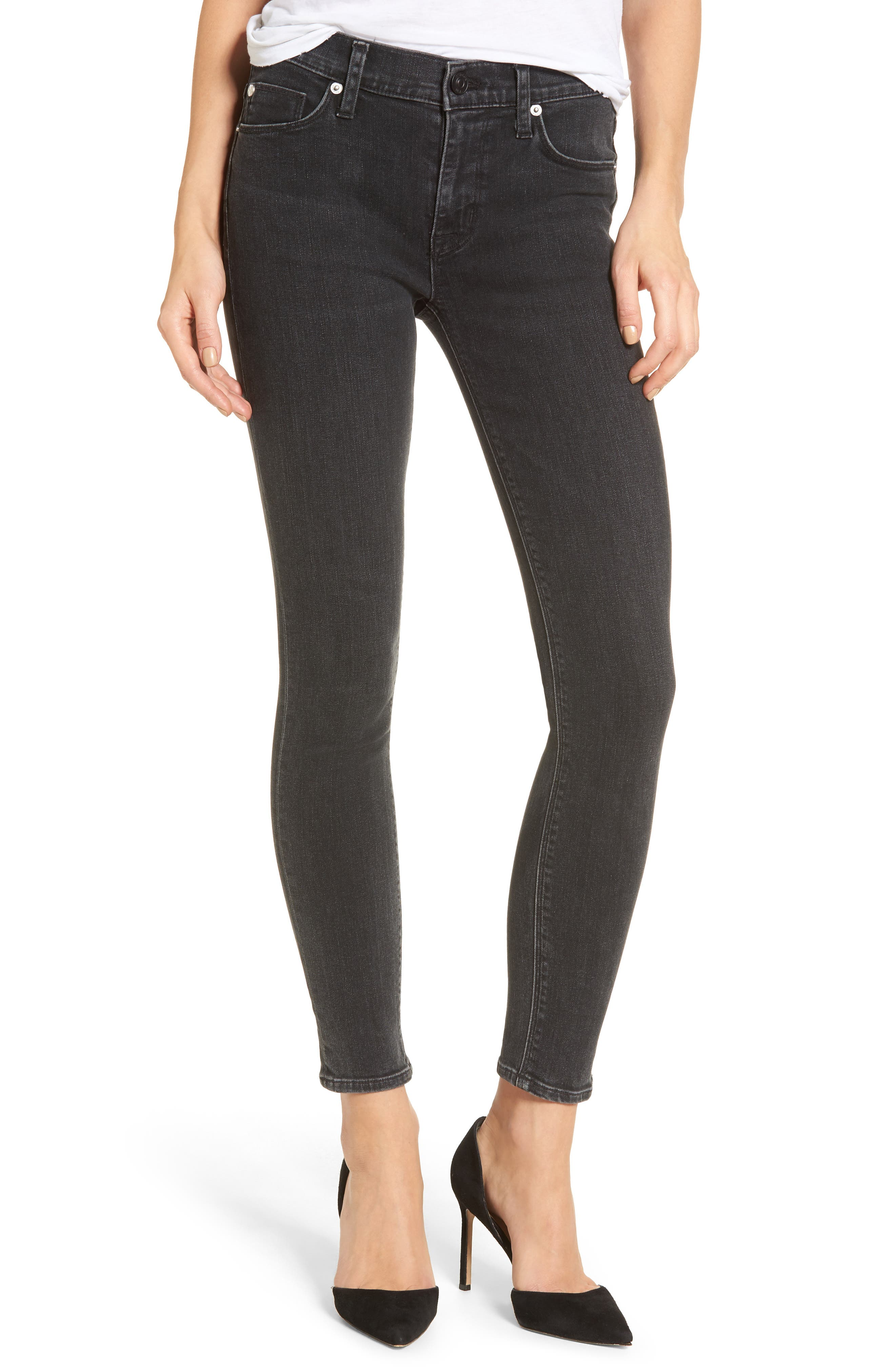 Main Image - Hudson Jeans Nico Ankle Skinny Jeans (Omega)