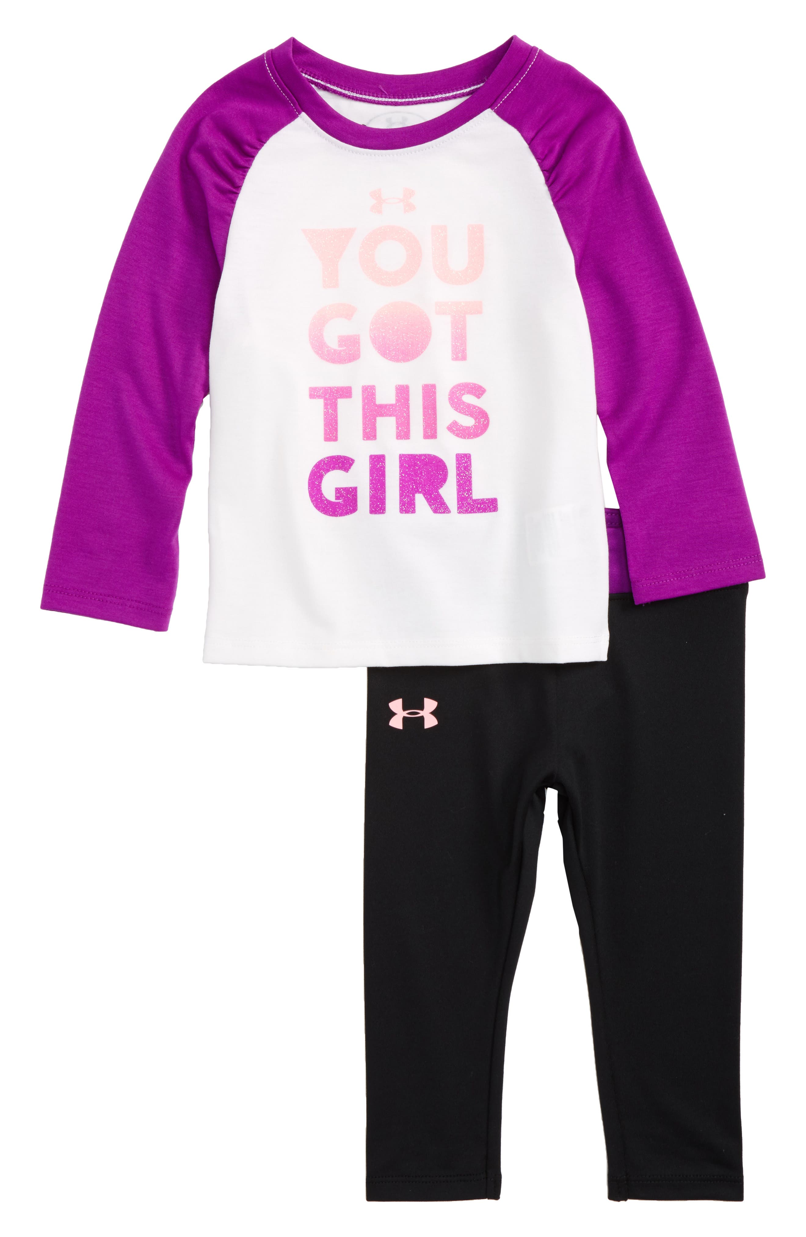 Under Armour You Got This Girl Tee & Pants Set (Baby Girls)