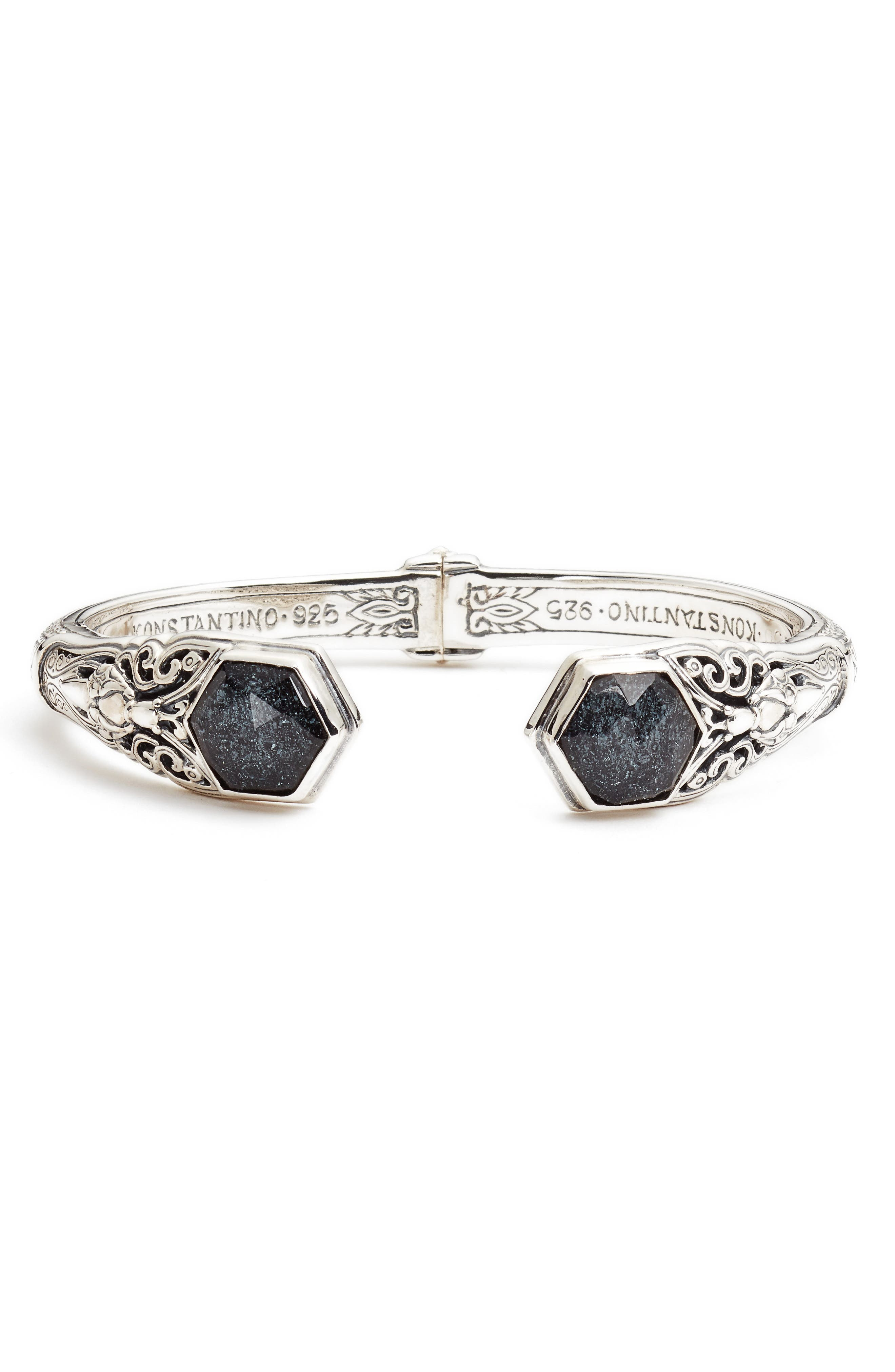 Alternate Image 1 Selected - Konstantino Santorini Hematite Cuff