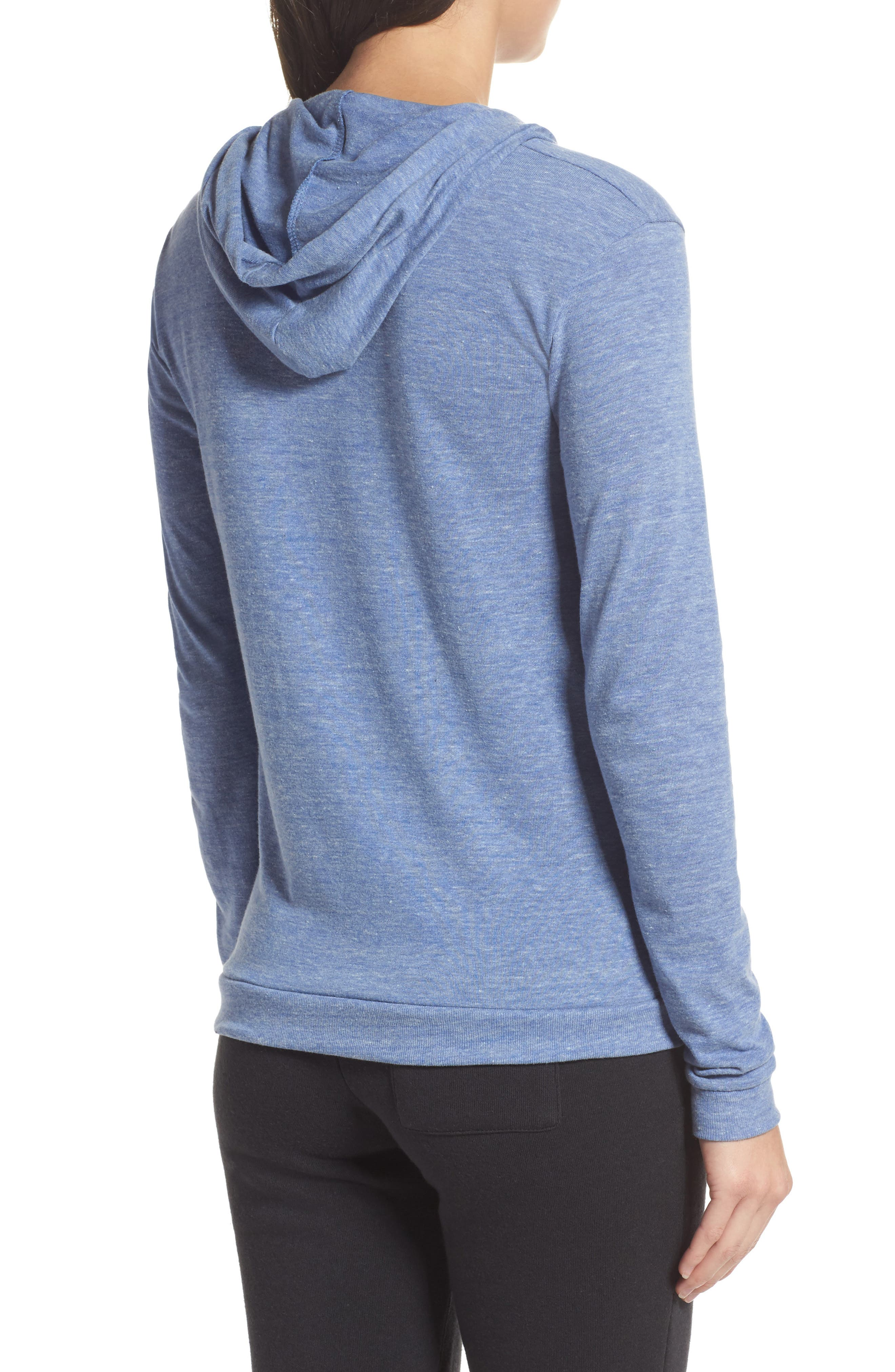 Classic Pullover Hoodie,                             Alternate thumbnail 2, color,                             Eco Pacific Blue