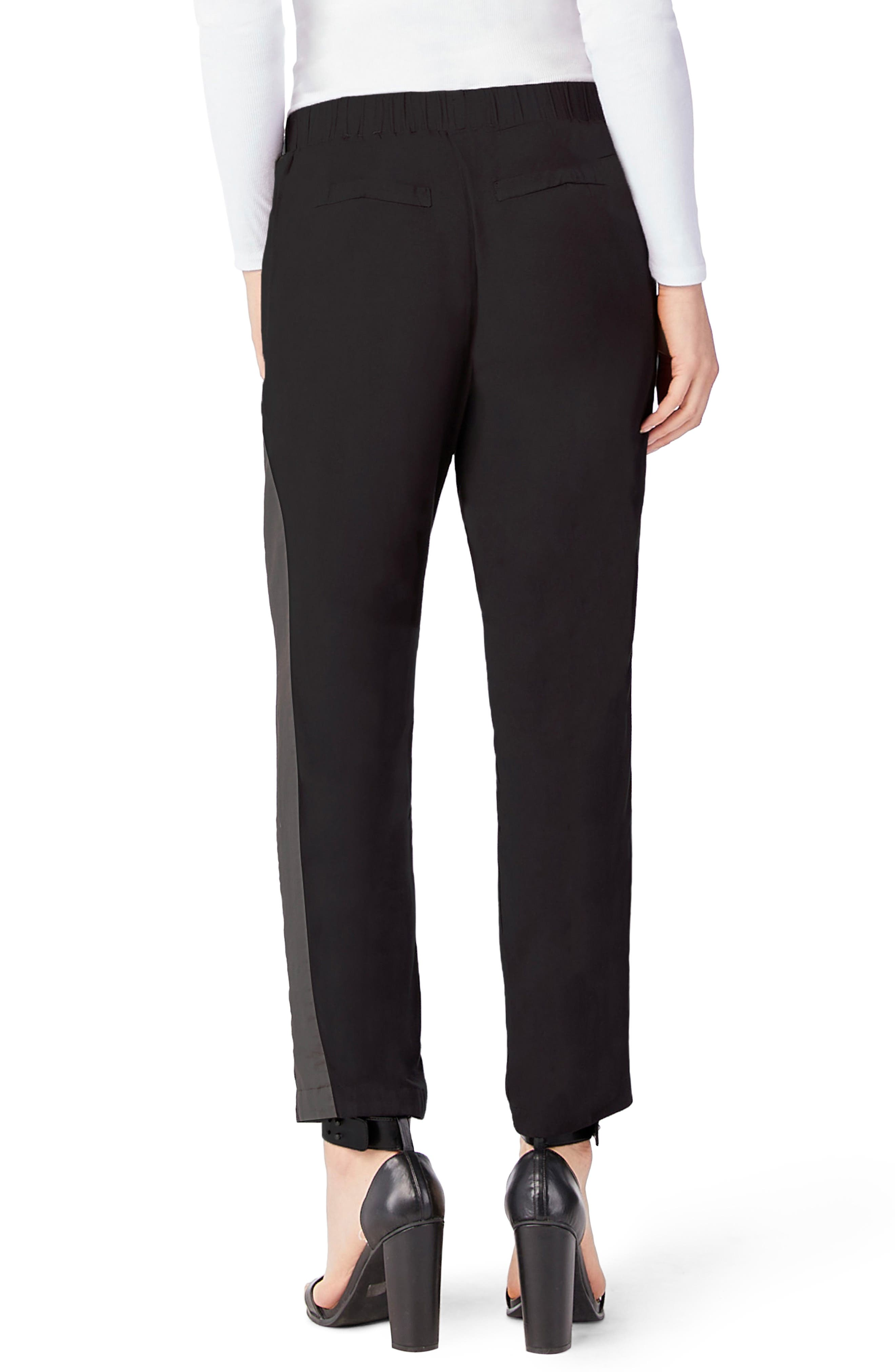 Tuxedo Pants,                             Alternate thumbnail 2, color,                             Black