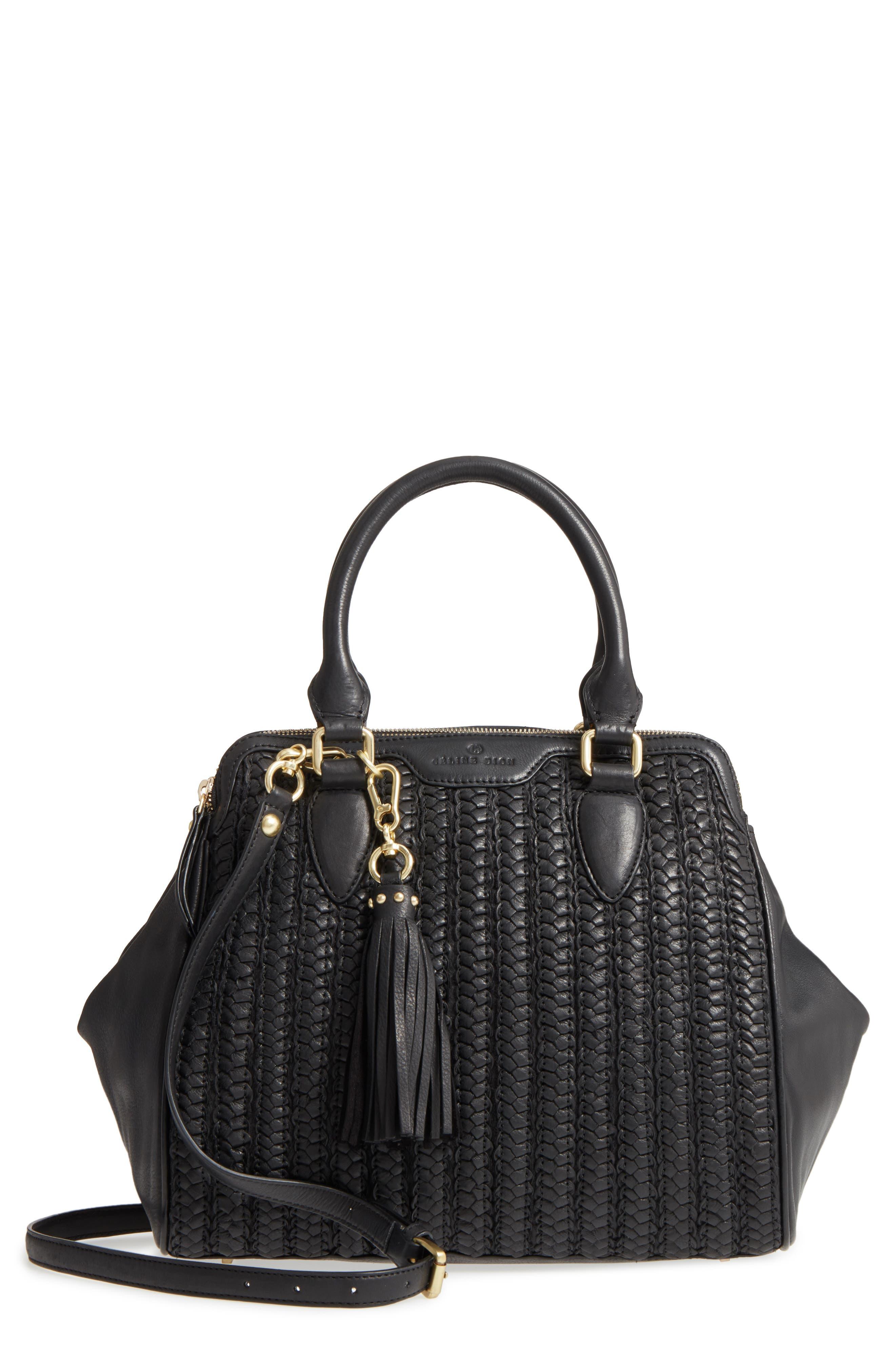 Céline Dion Medley Braided Leather Satchel