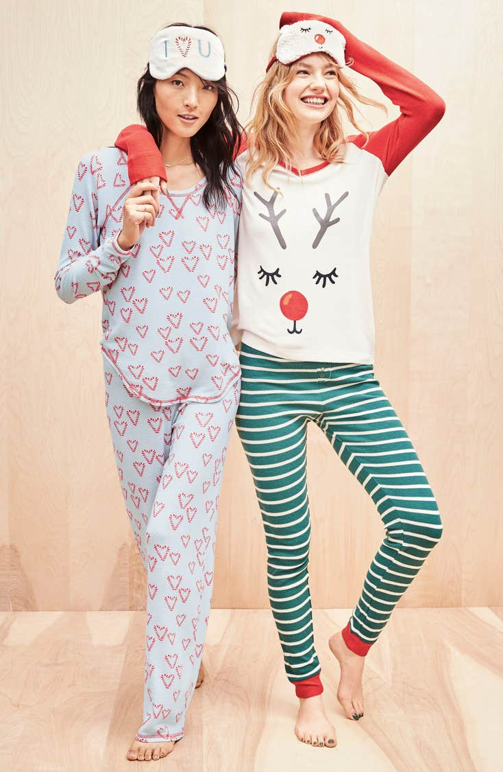 Cute winter pajamas