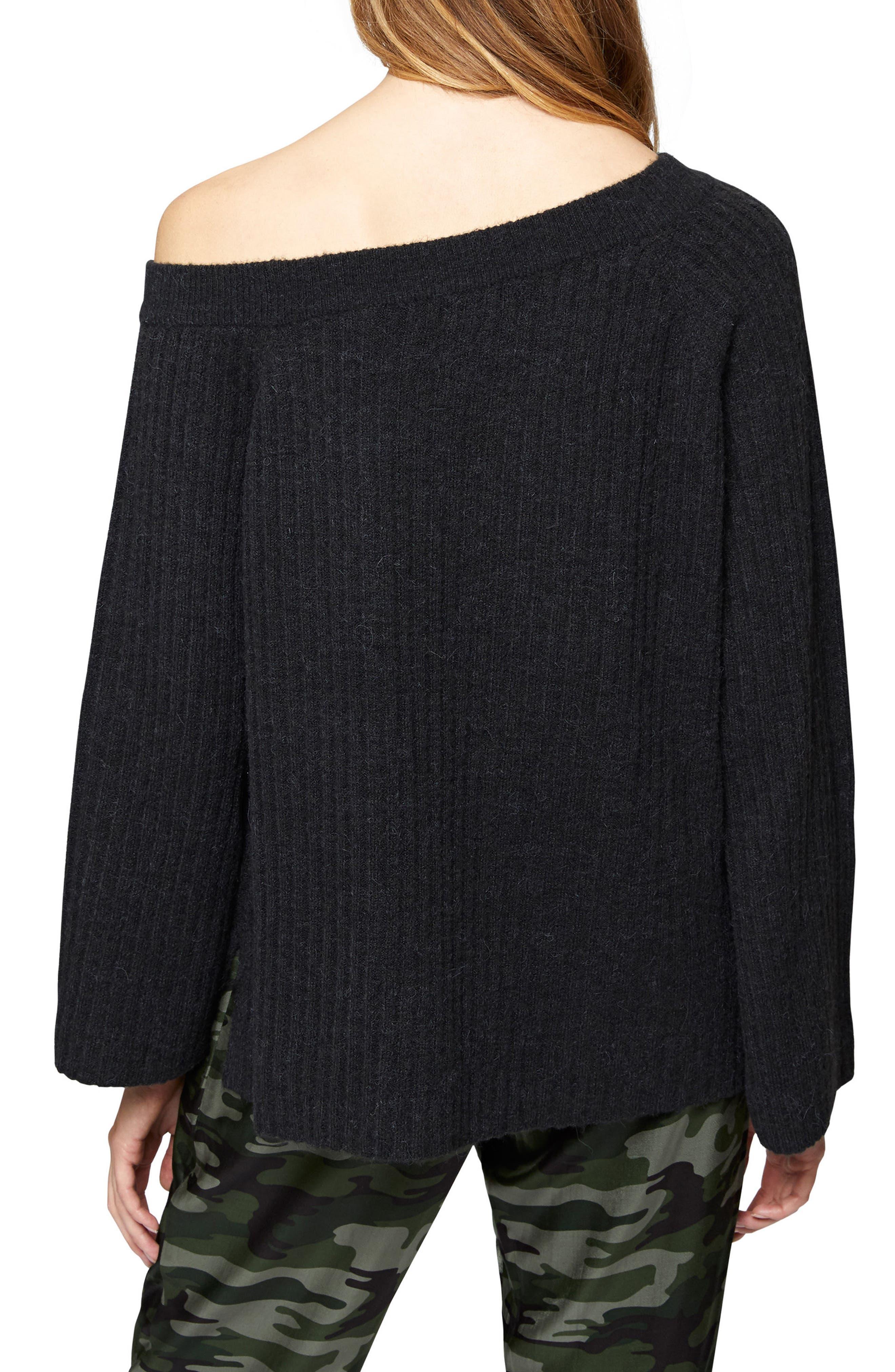 Alternate Image 2  - Sanctuary Aurelia One-Shoulder Sweater (Regular & Petite)