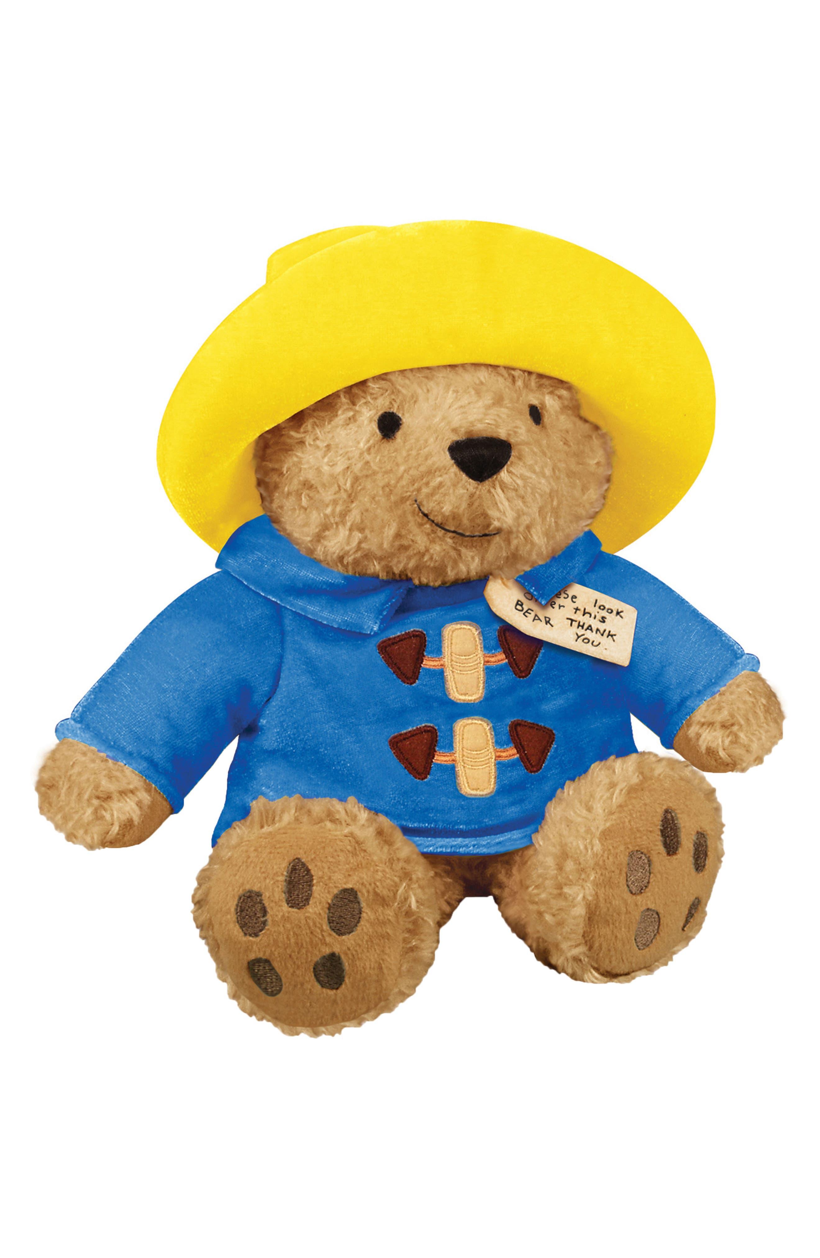 My Friend Paddington Stuffed Toy,                             Main thumbnail 1, color,                             Blue