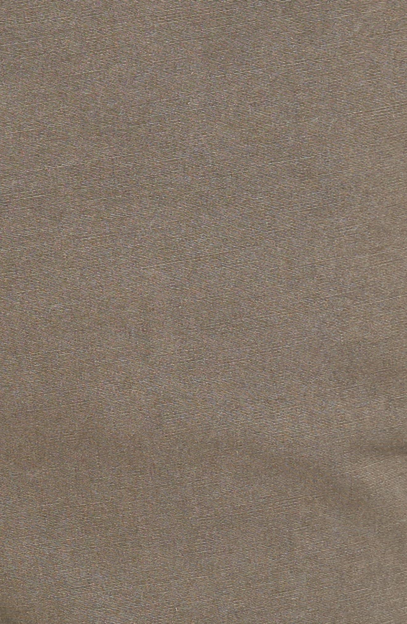 Slim Stretch Poplin Drawcord Pants,                             Alternate thumbnail 5, color,                             Greystone Pigment