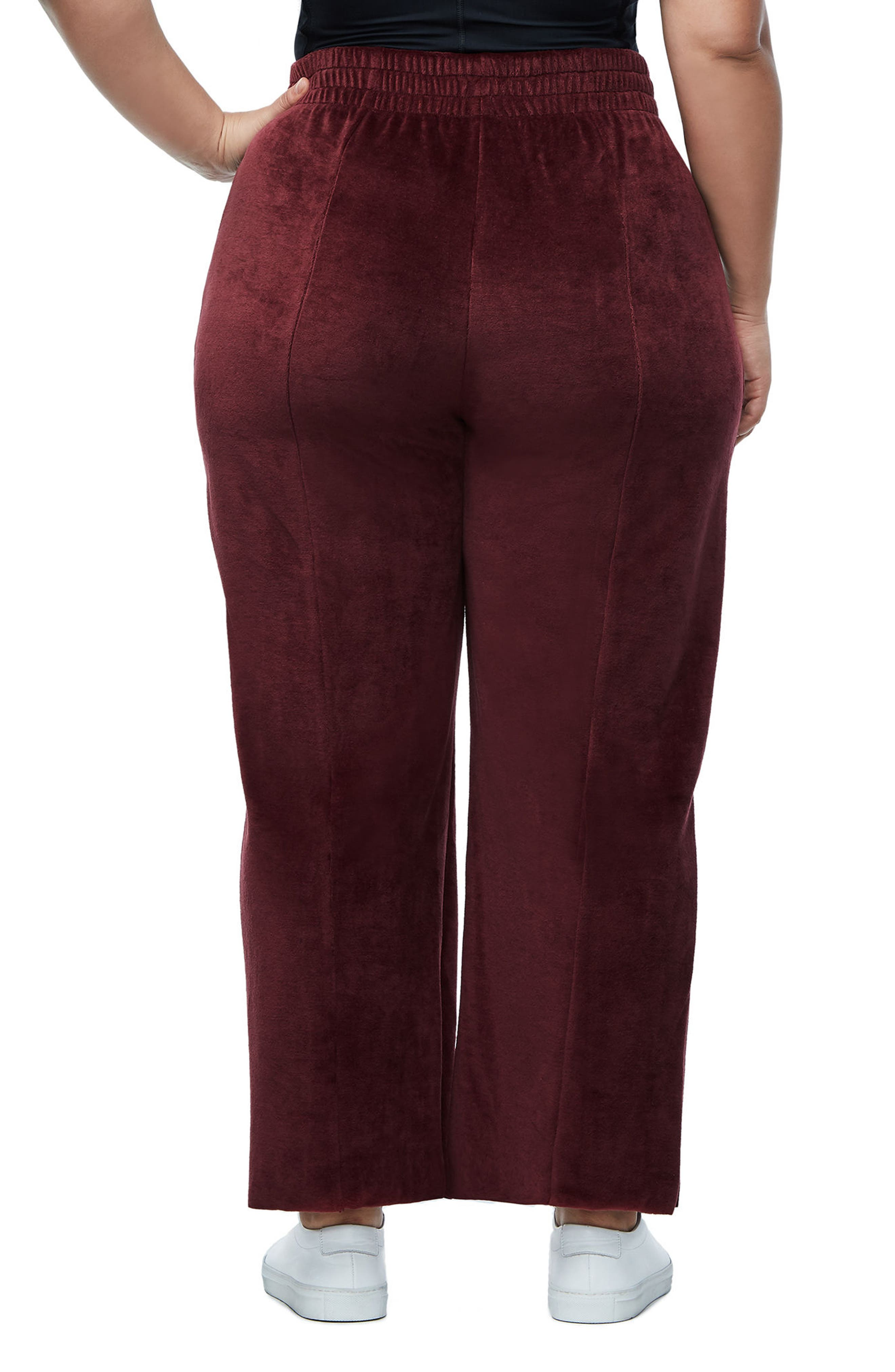Alternate Image 4  - Good American Good Sweats The High Waist Sweatpants (Extended Sizes)