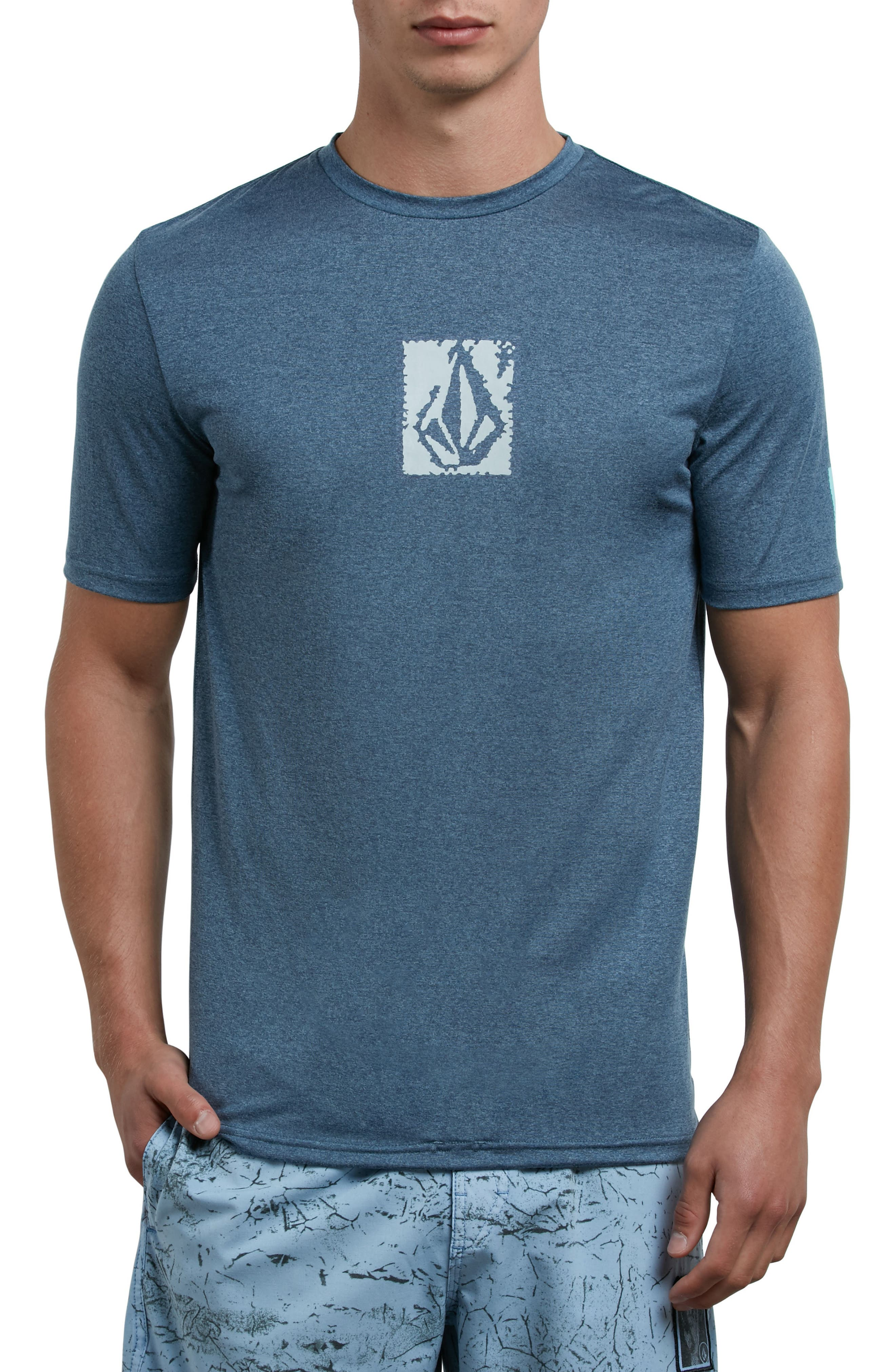 Lido Pixel T-Shirt,                             Main thumbnail 1, color,                             Blue