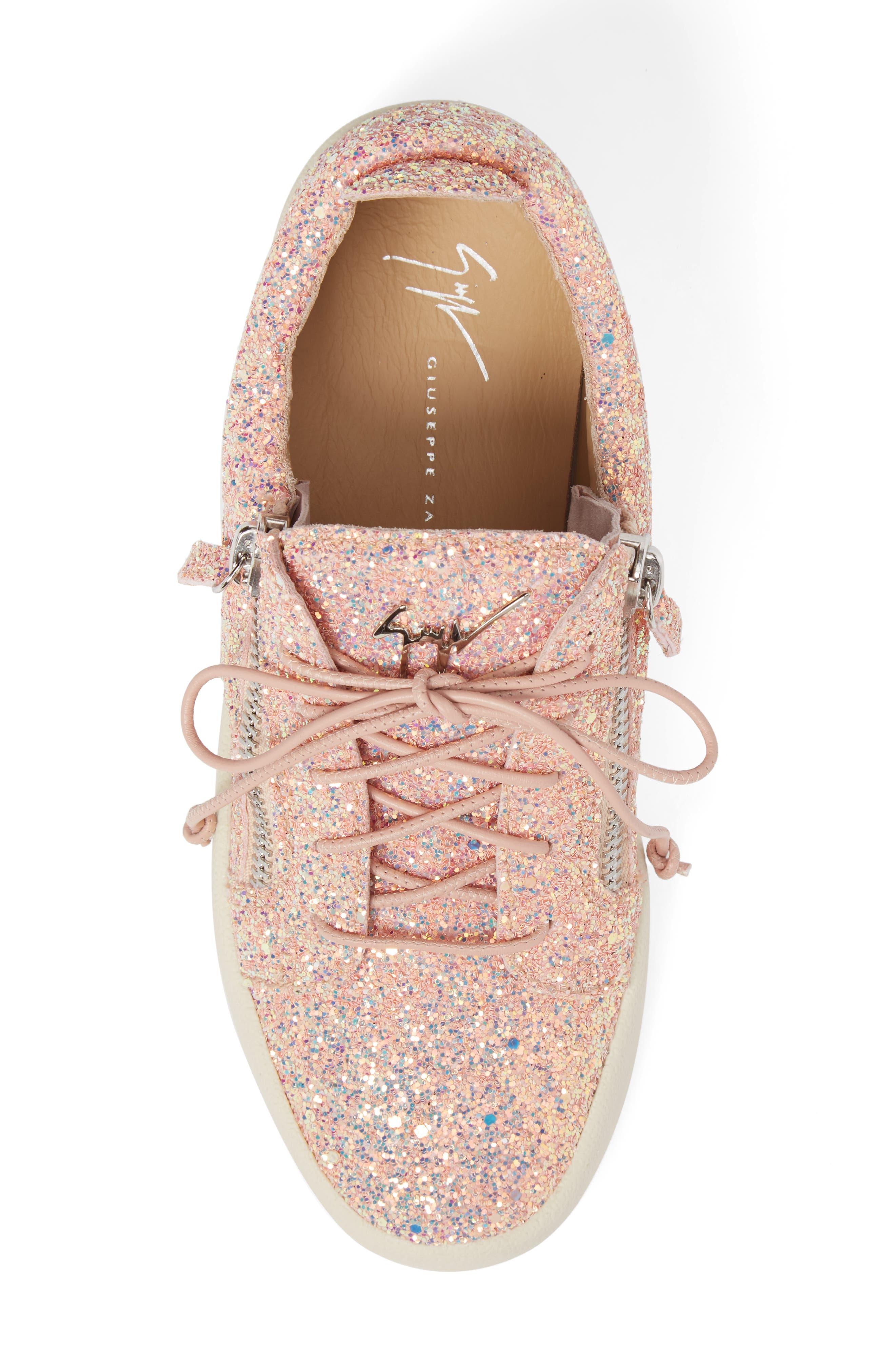 Alternate Image 5  - Giuseppe Zanotti May London Low Top Sneaker (Women)