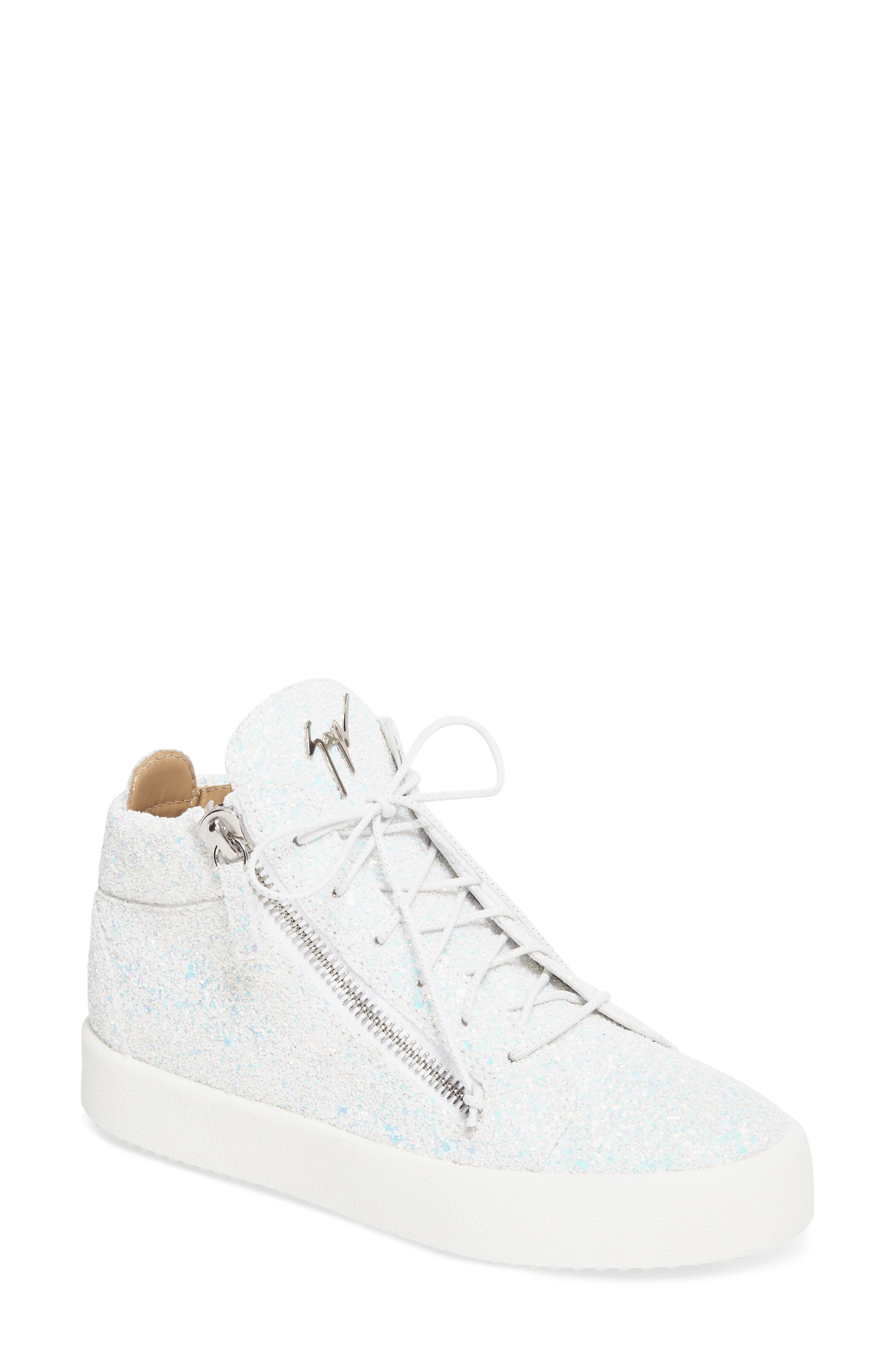 Alternate Image 1 Selected - Giuseppe Zanotti May London High Top Sneaker (Women)