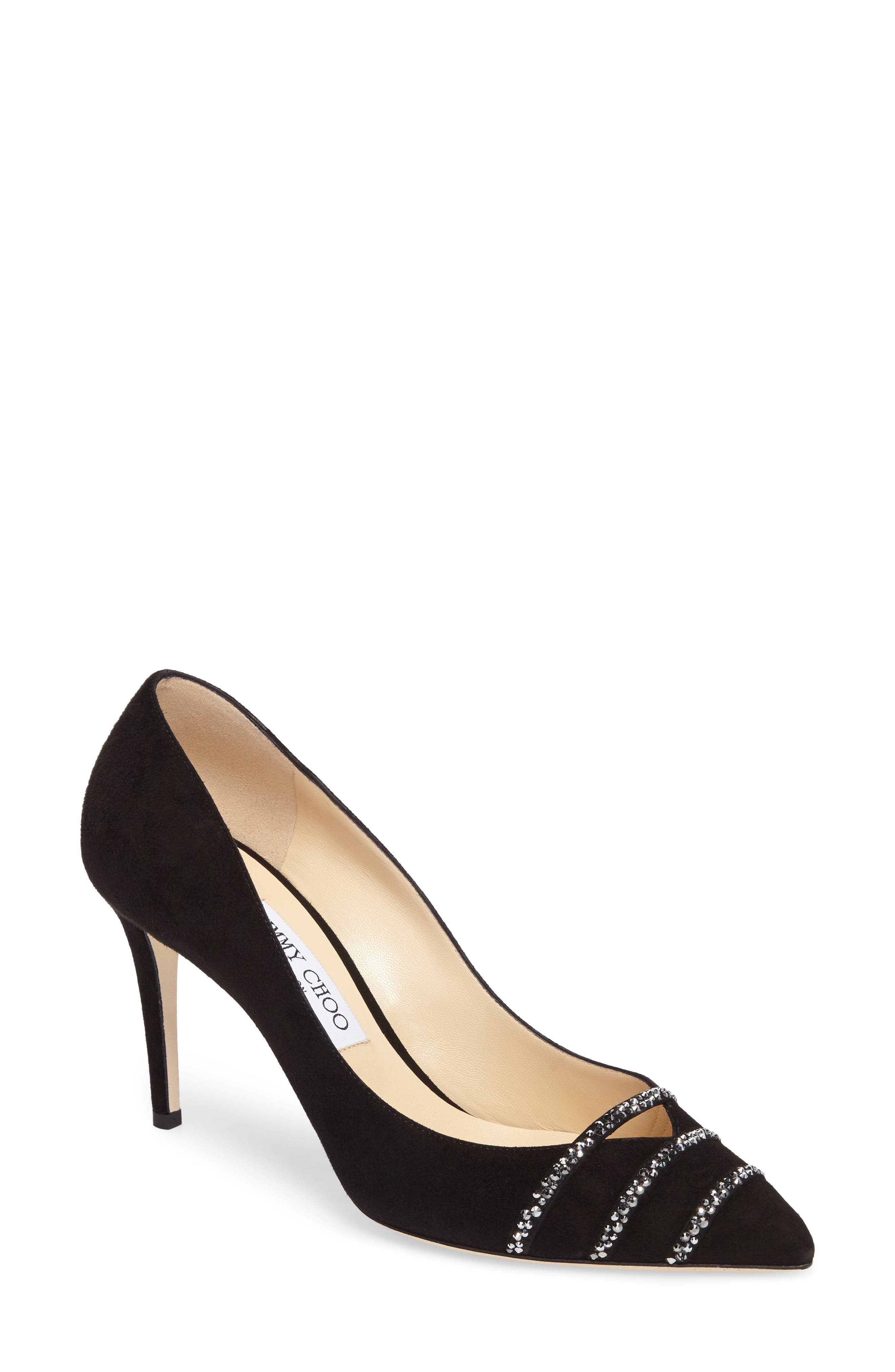 Bethan Pump,                             Main thumbnail 1, color,                             Black/ Anthracite