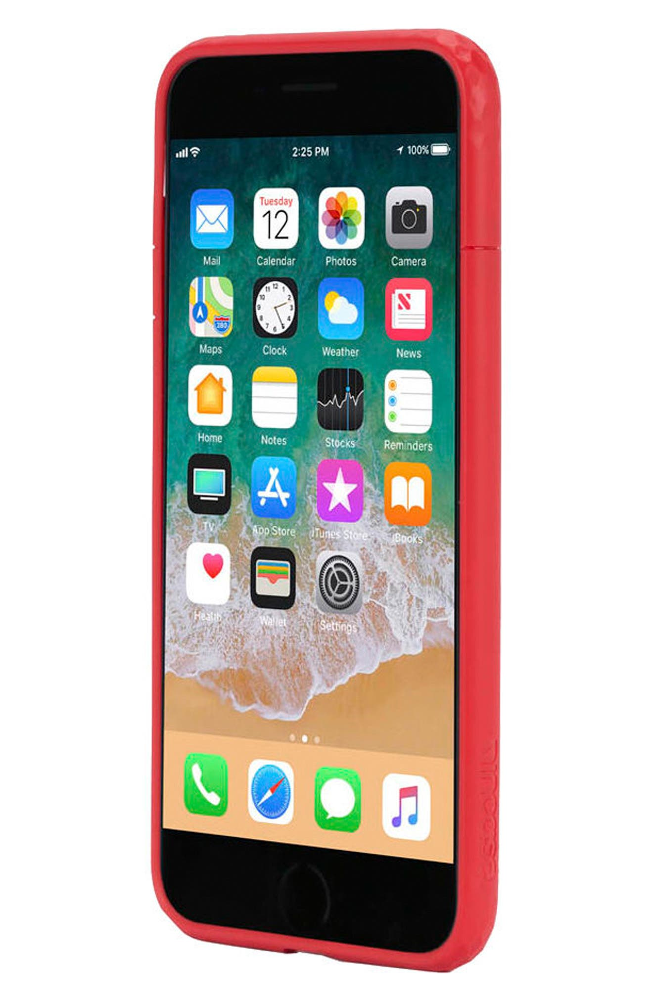 Frame iPhone 7 Plus/8 Plus Case,                             Alternate thumbnail 2, color,                             Red