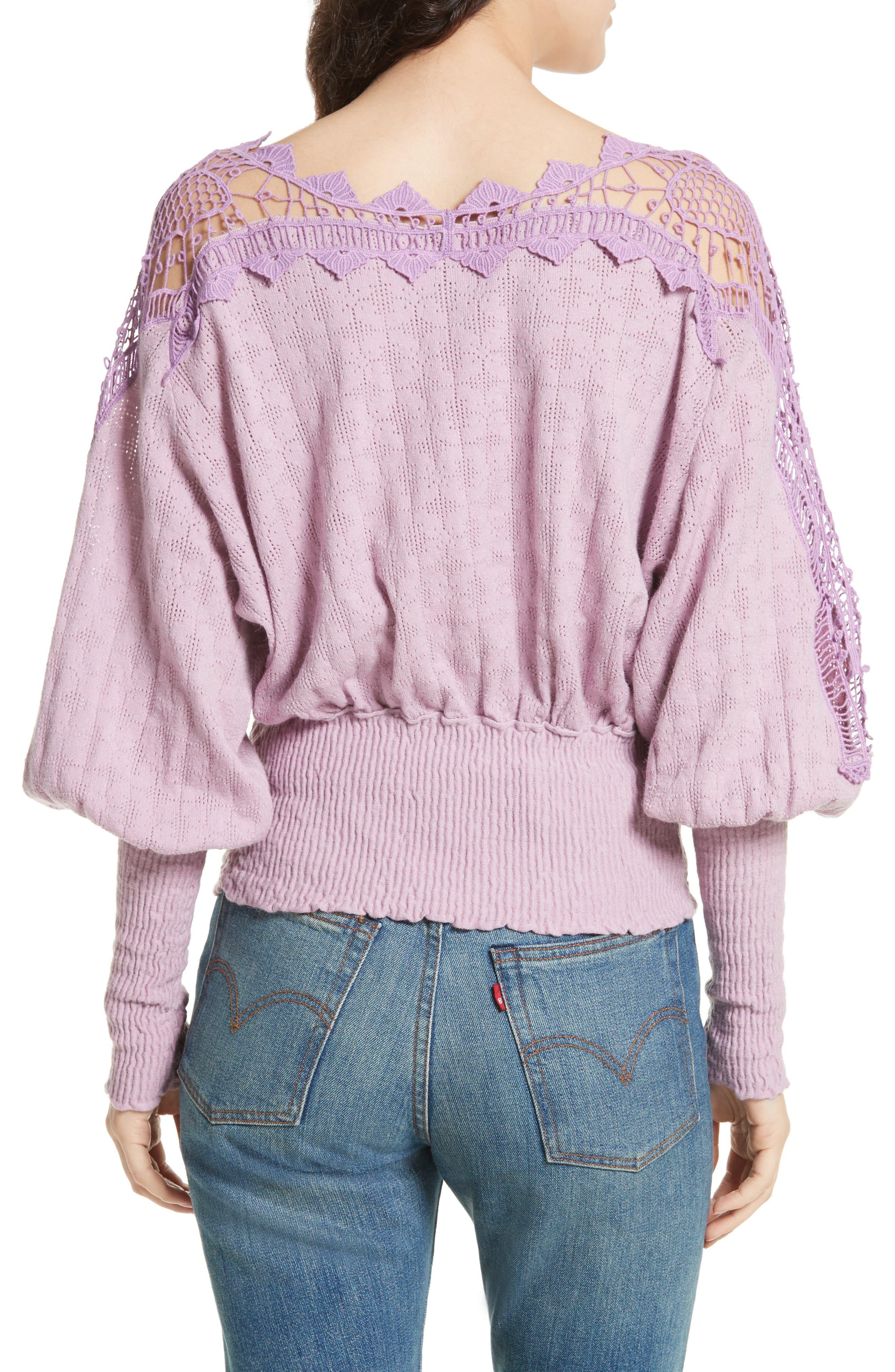 Alternate Image 2  - Free People Love Lace Sweater