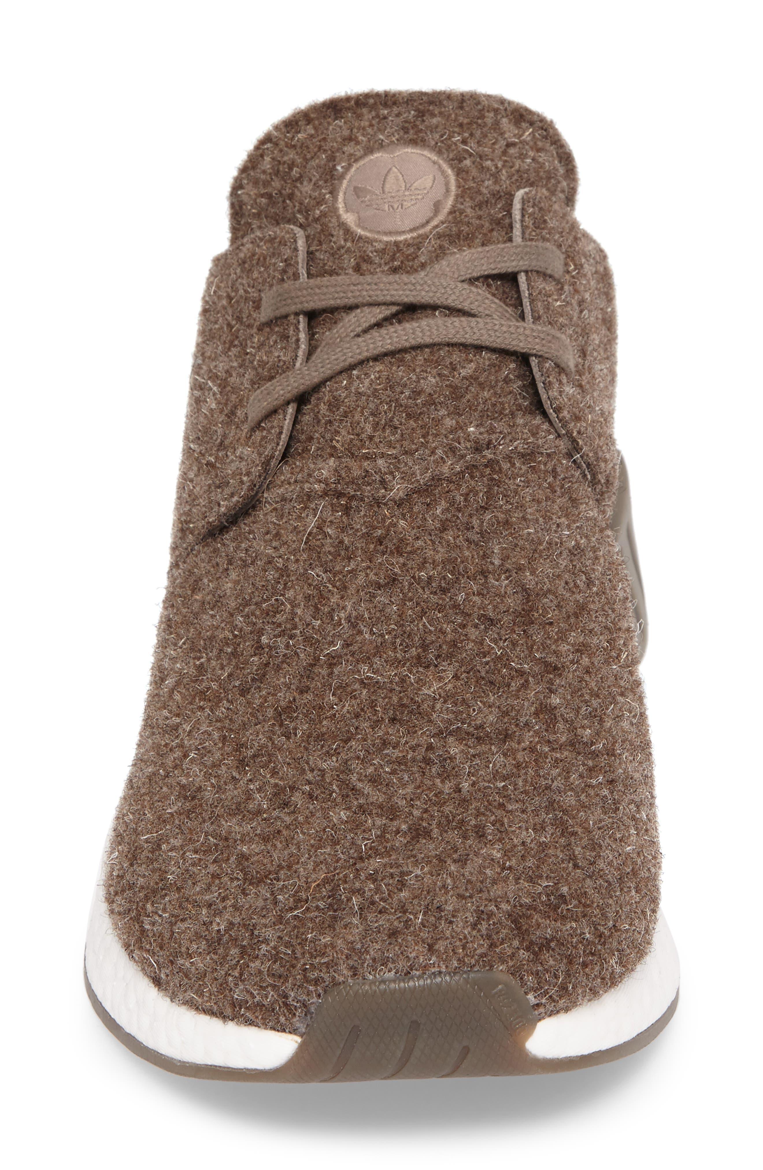 NMD C2 Sneaker (Men0,                             Alternate thumbnail 4, color,                             Simple Brown/ Gum