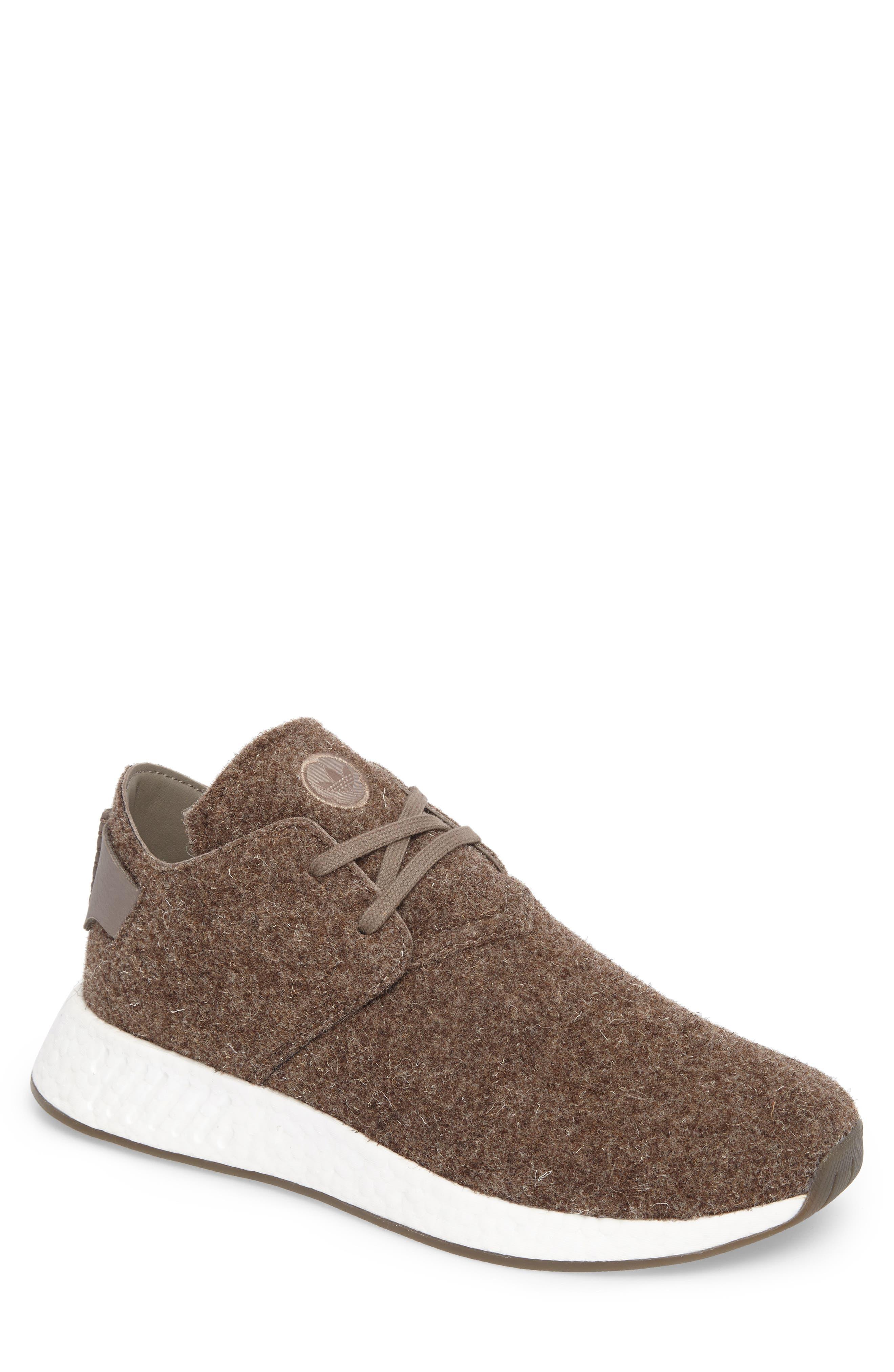 NMD C2 Sneaker (Men0,                             Main thumbnail 1, color,                             Simple Brown/ Gum