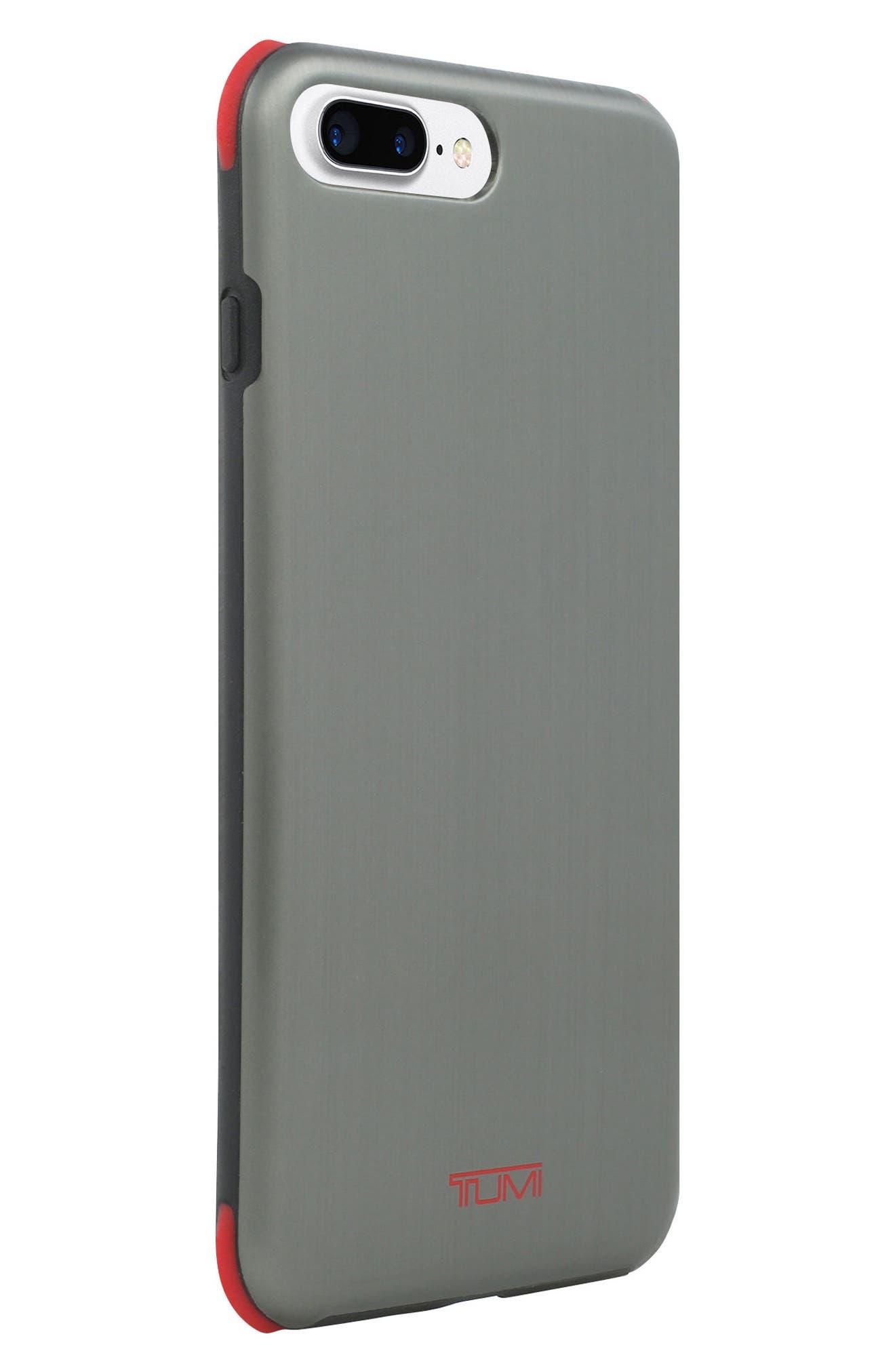 Regular Protection iPhone 8 Plus Case,                             Alternate thumbnail 3, color,                             Brushed Gunmetal