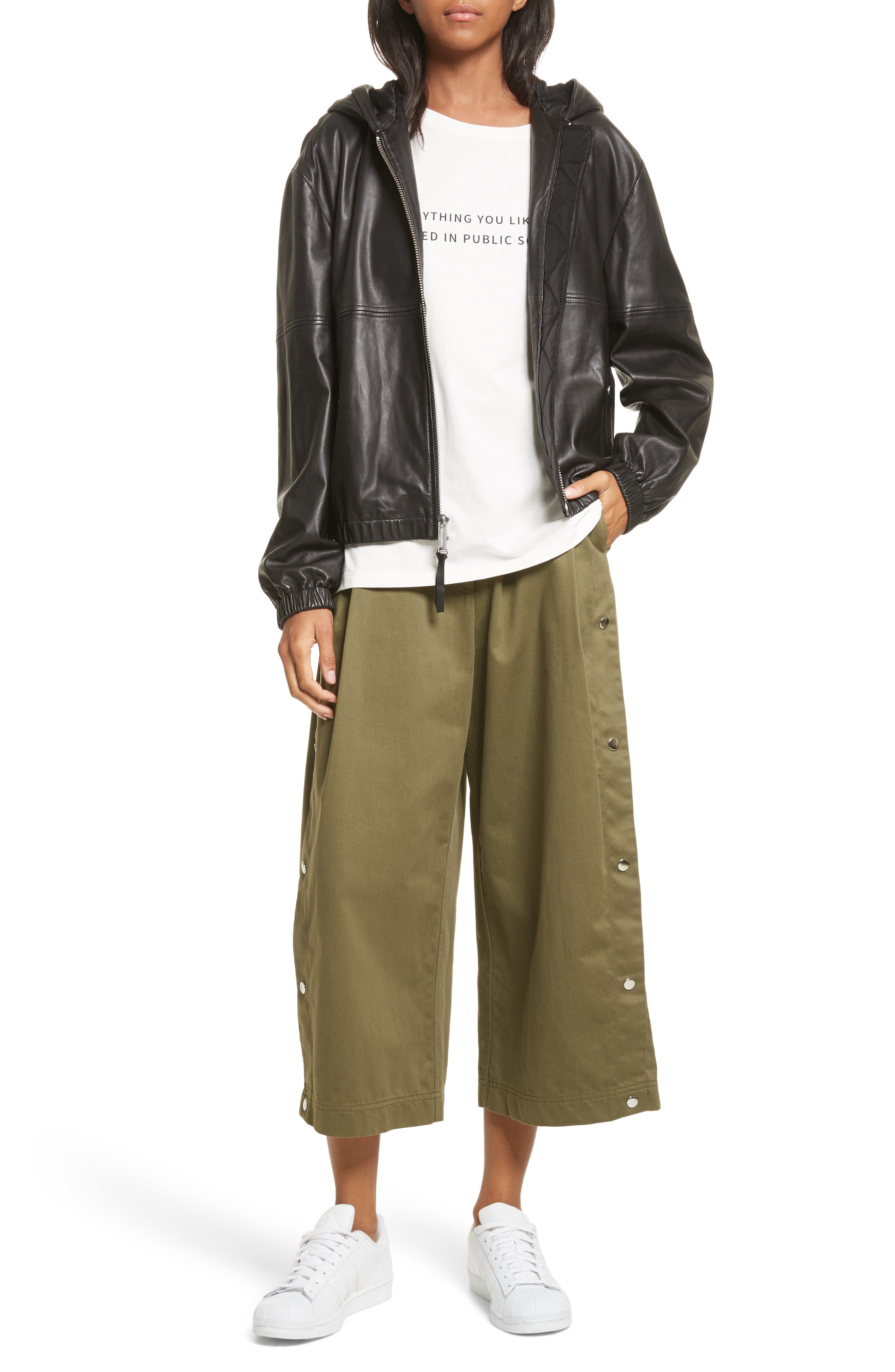 Alternate Image 9  - Public School Tess Wide Leg Crop Pants