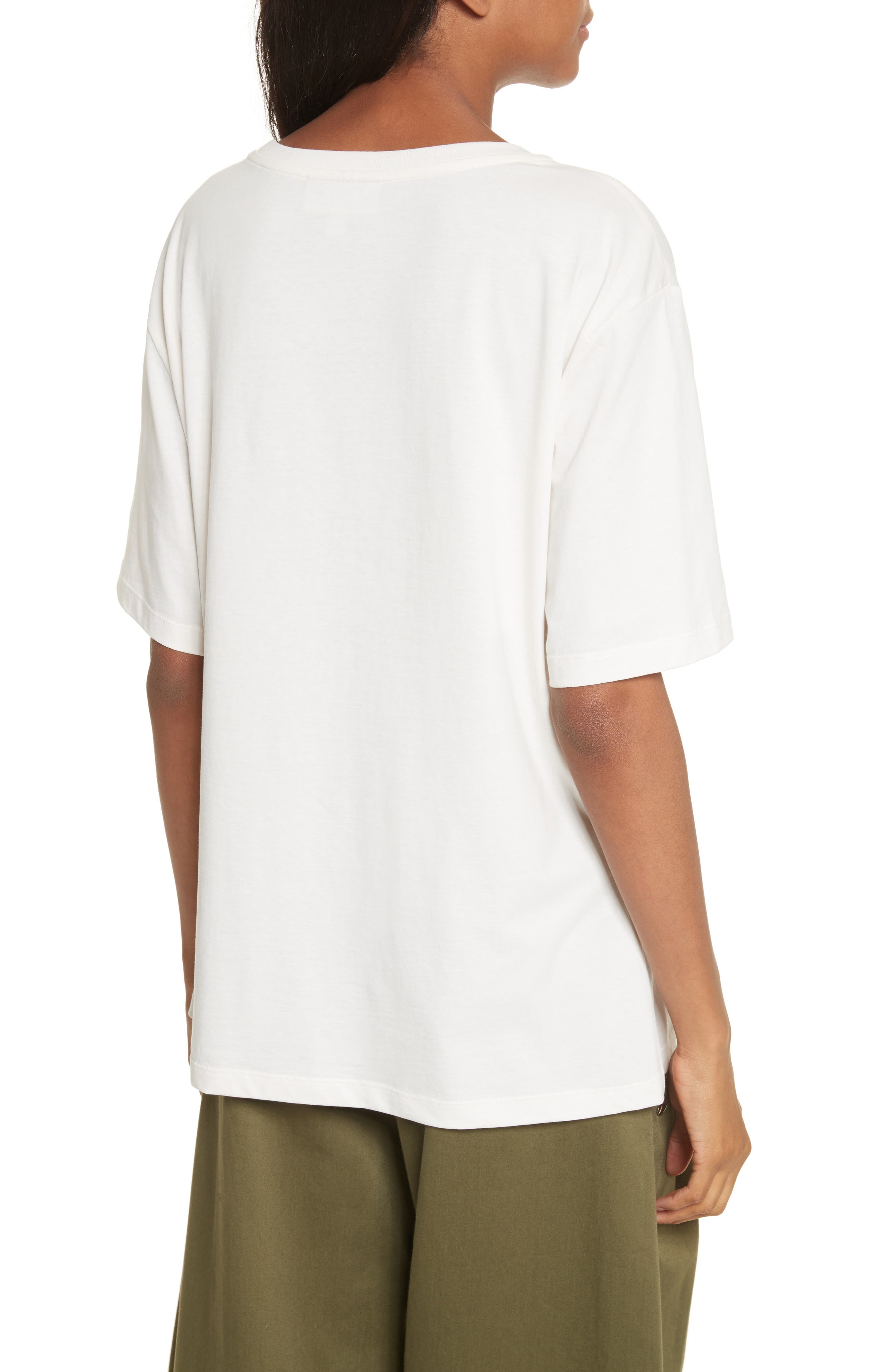 Everything I Like Graphic Tee,                             Alternate thumbnail 2, color,                             Off White