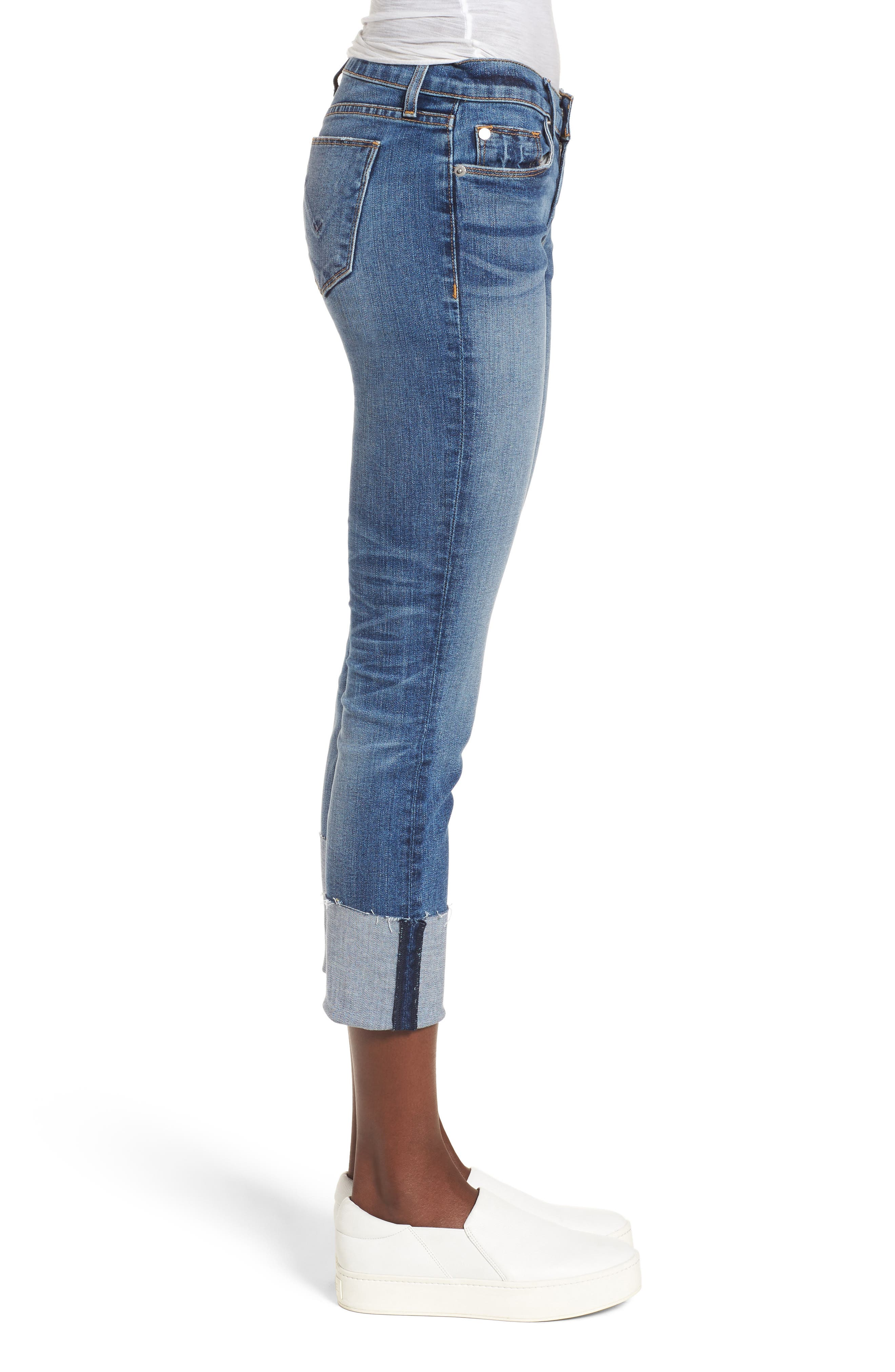 Alternate Image 3  - Hudson Jeans Tally Cuffed Crop Skinny Jeans