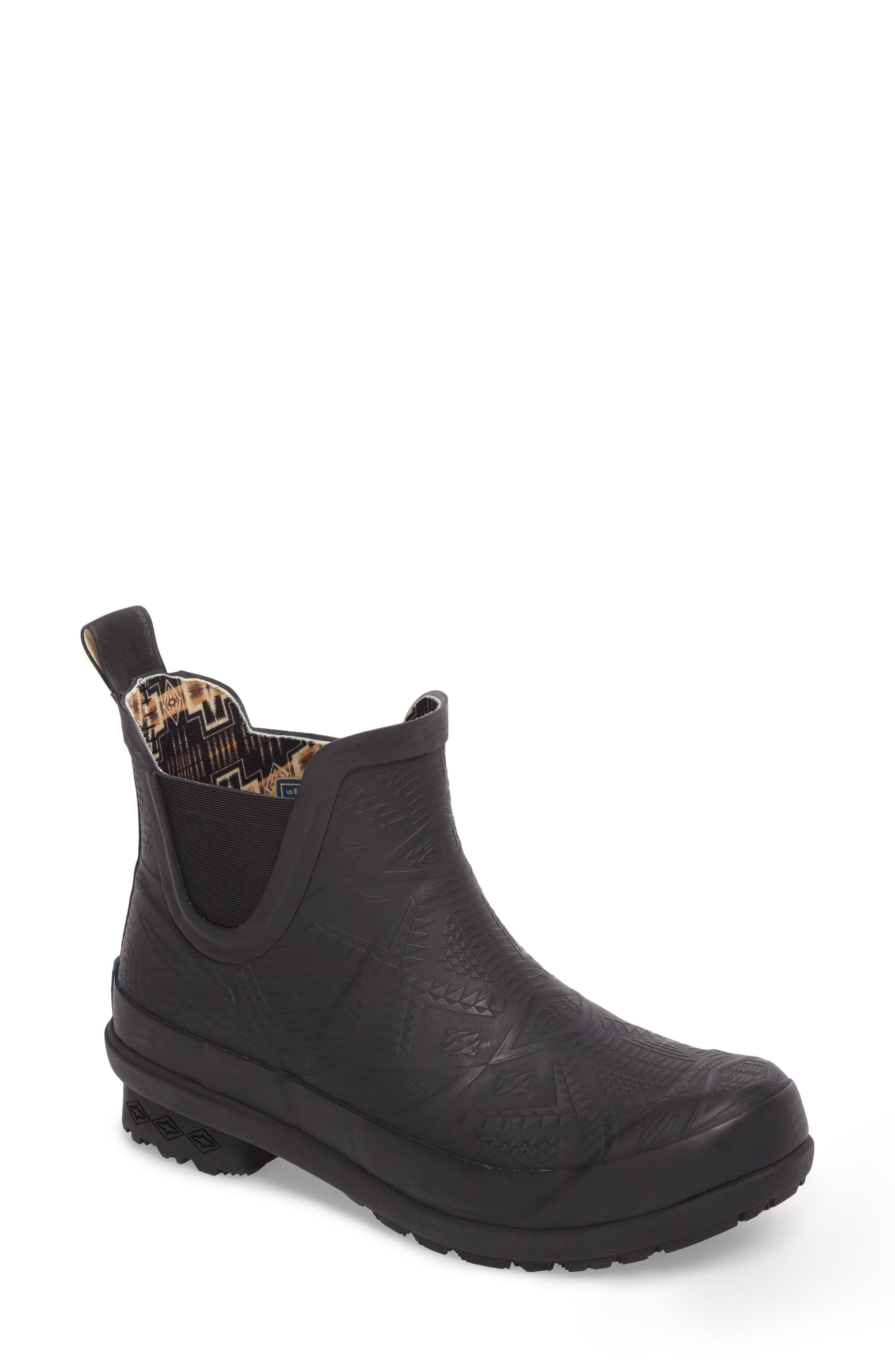 Pendleton Embossed Chelsea Rain Boot (Women)