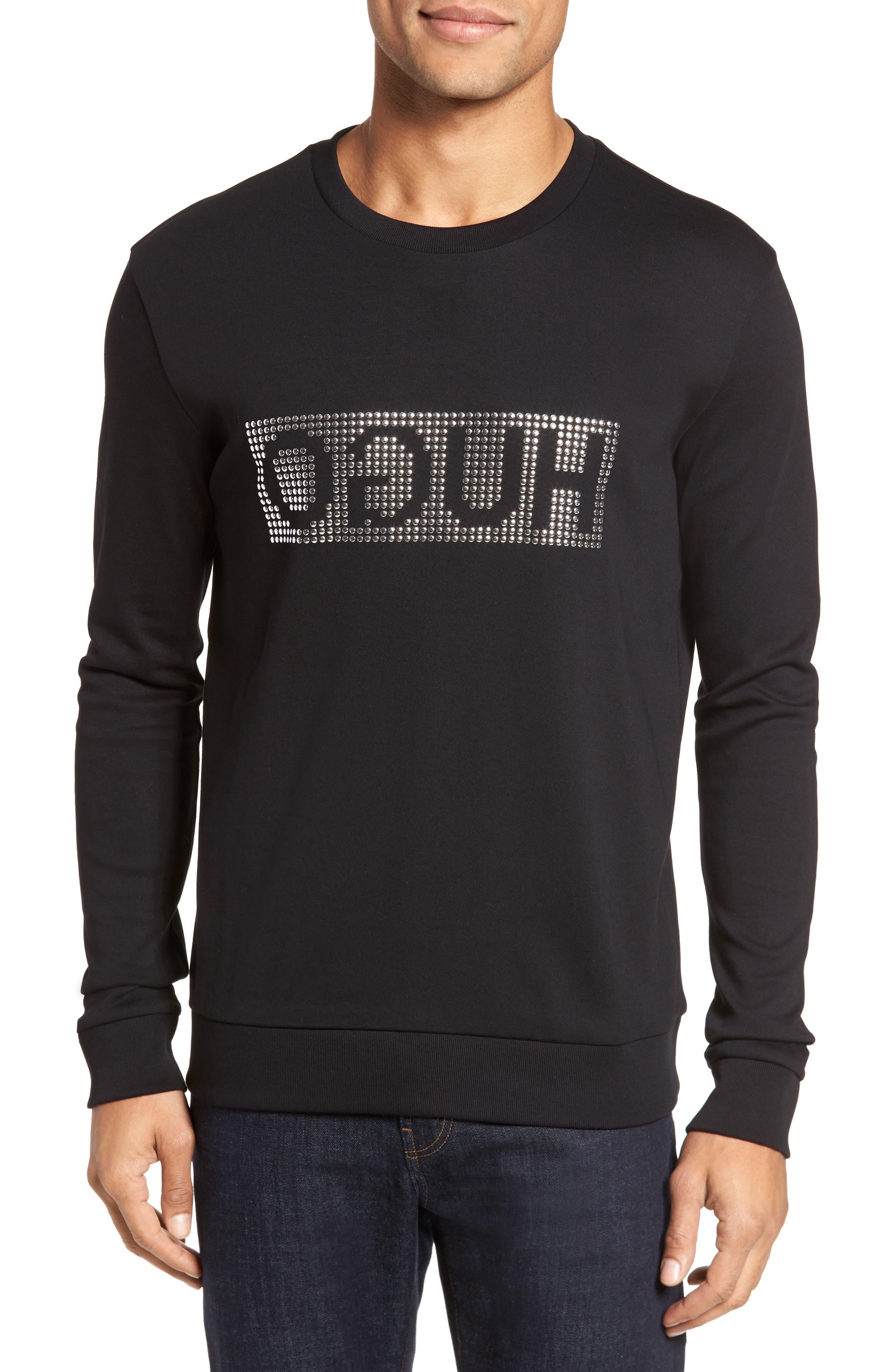Dicagolo Logo Sweatshirt,                         Main,                         color, Black
