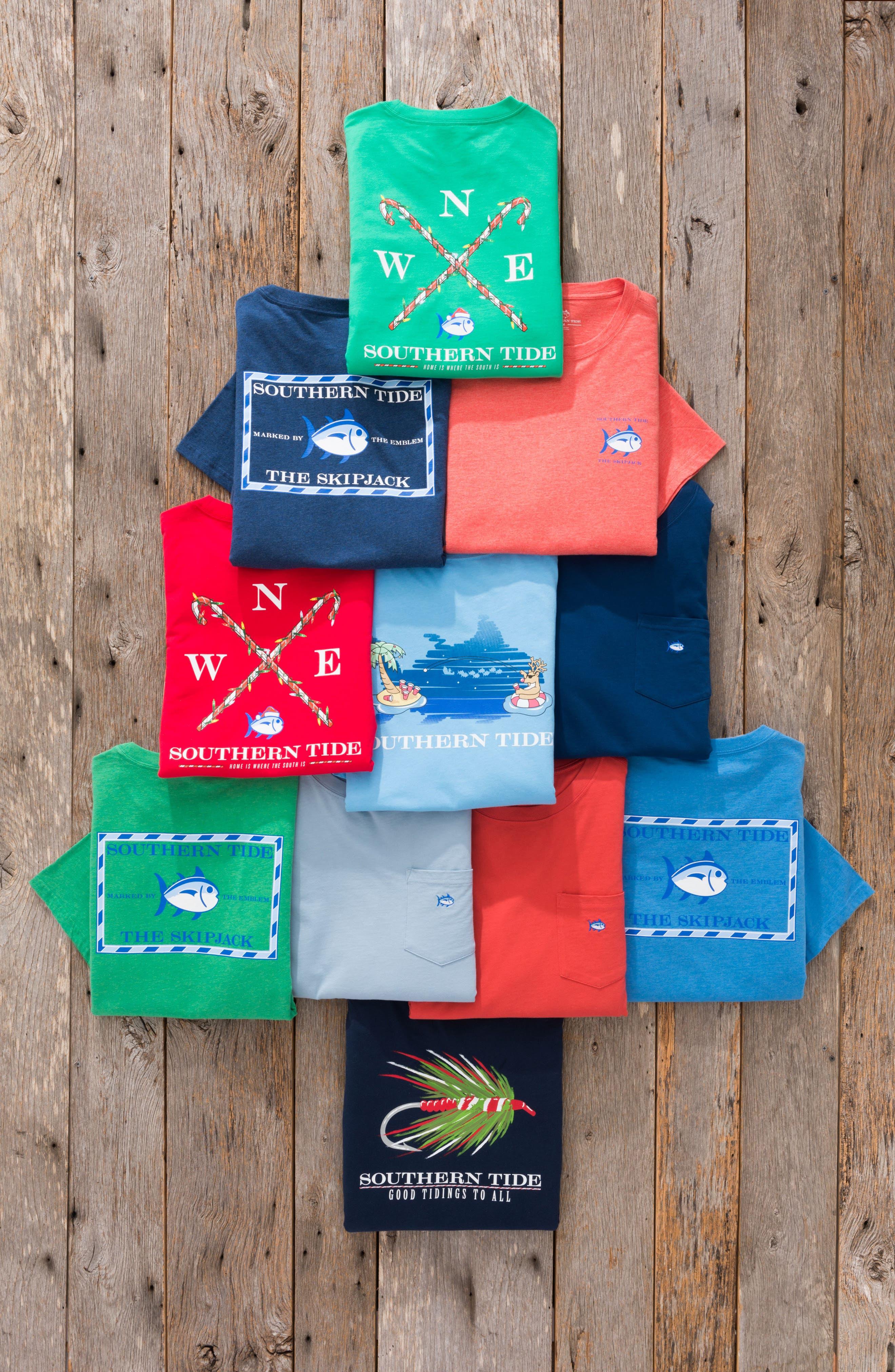 Alternate Image 7  - Southern Tide Reindeer Holiday T-Shirt