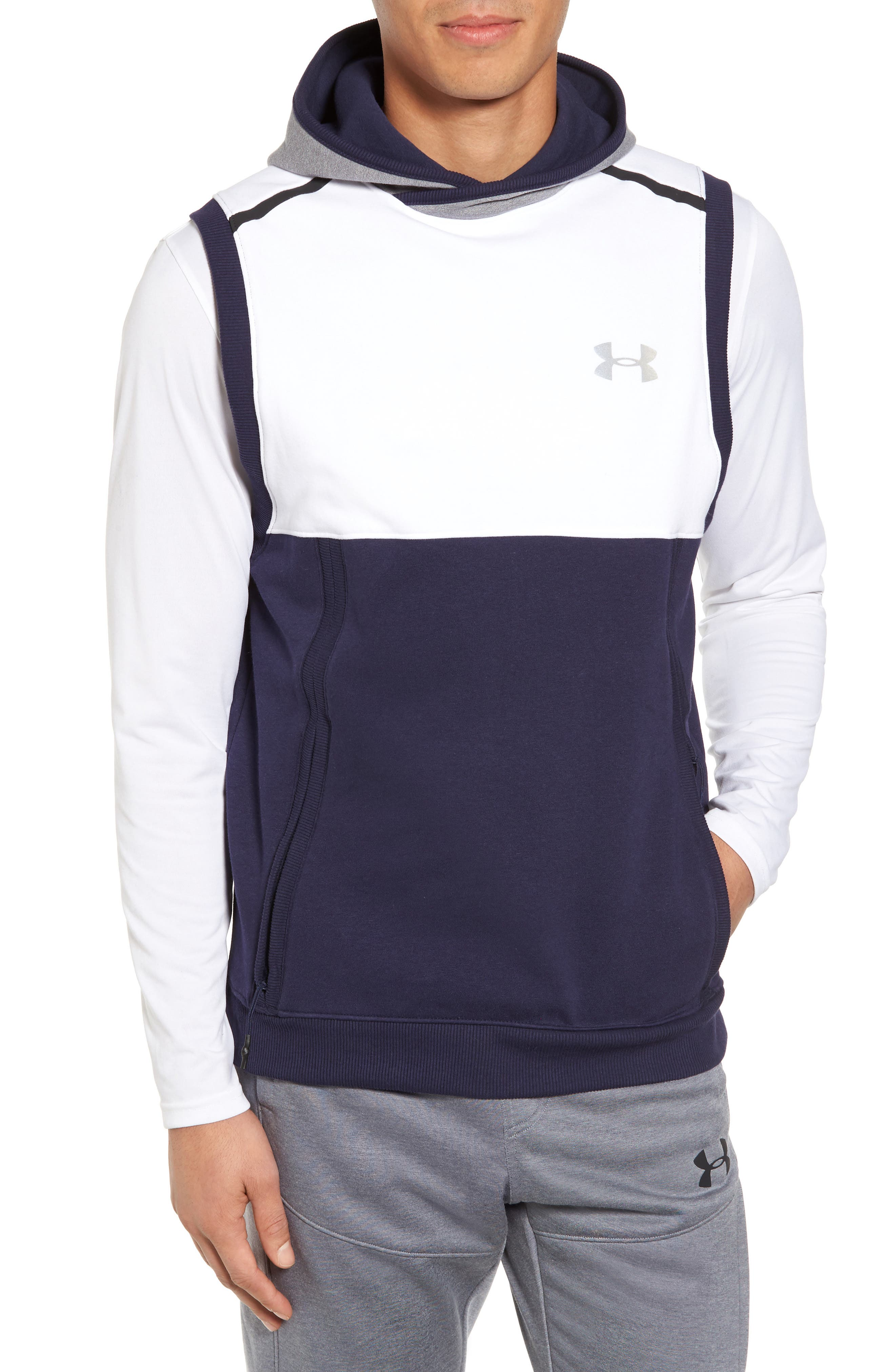 Under Armour Threadborne Hooded Vest
