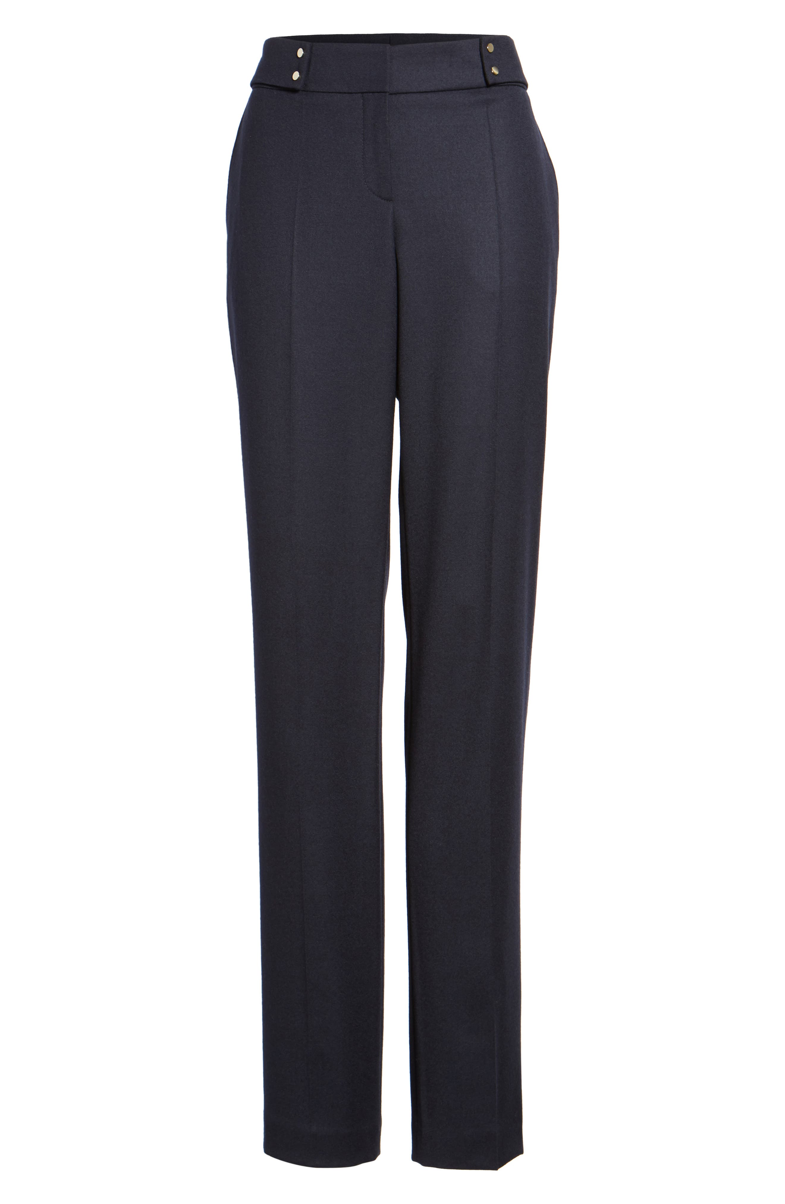 Tamea Pants,                             Alternate thumbnail 6, color,                             Navy