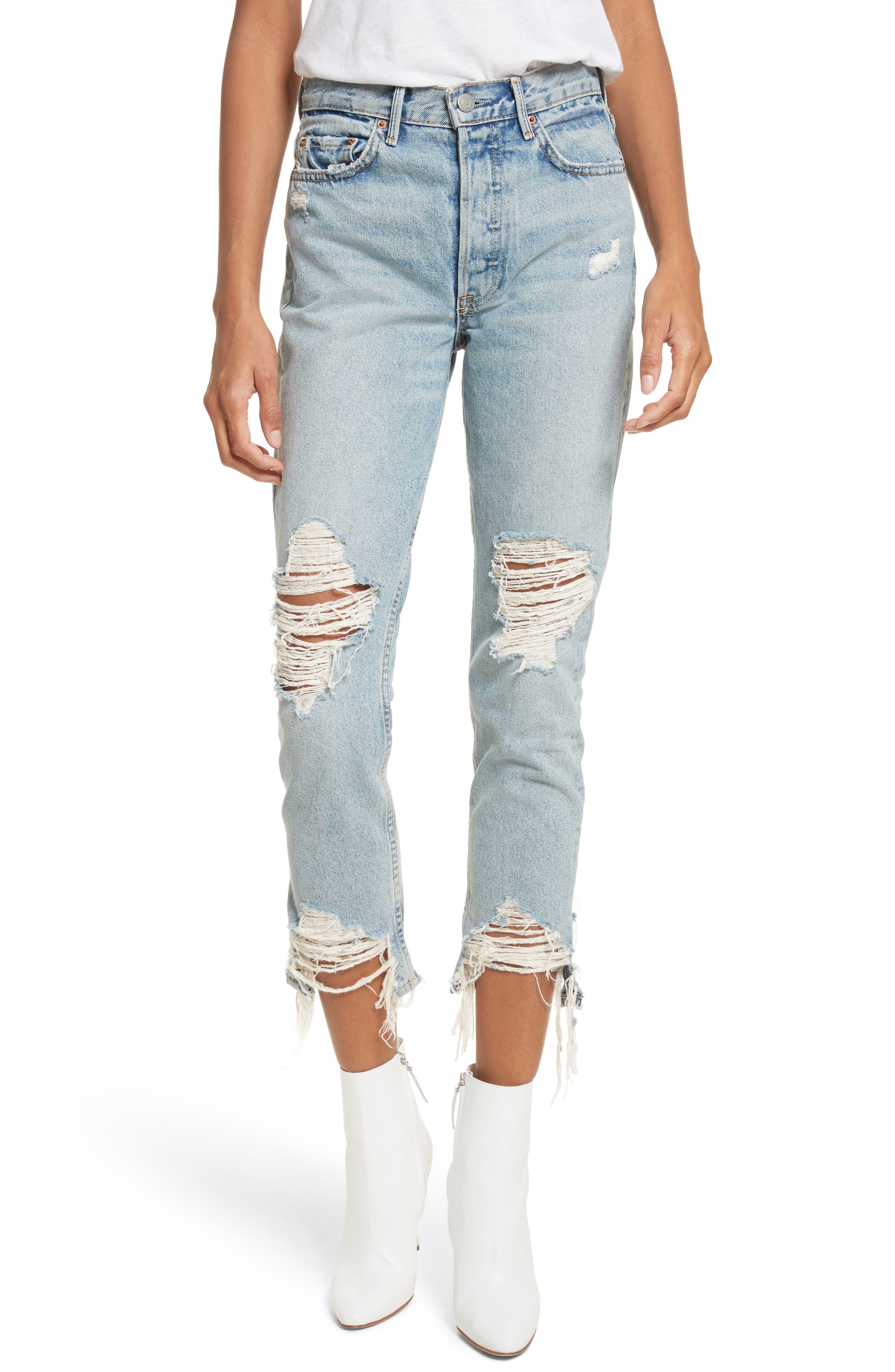 GRLFRND Karolina High Waist Jeans (Tough Love)