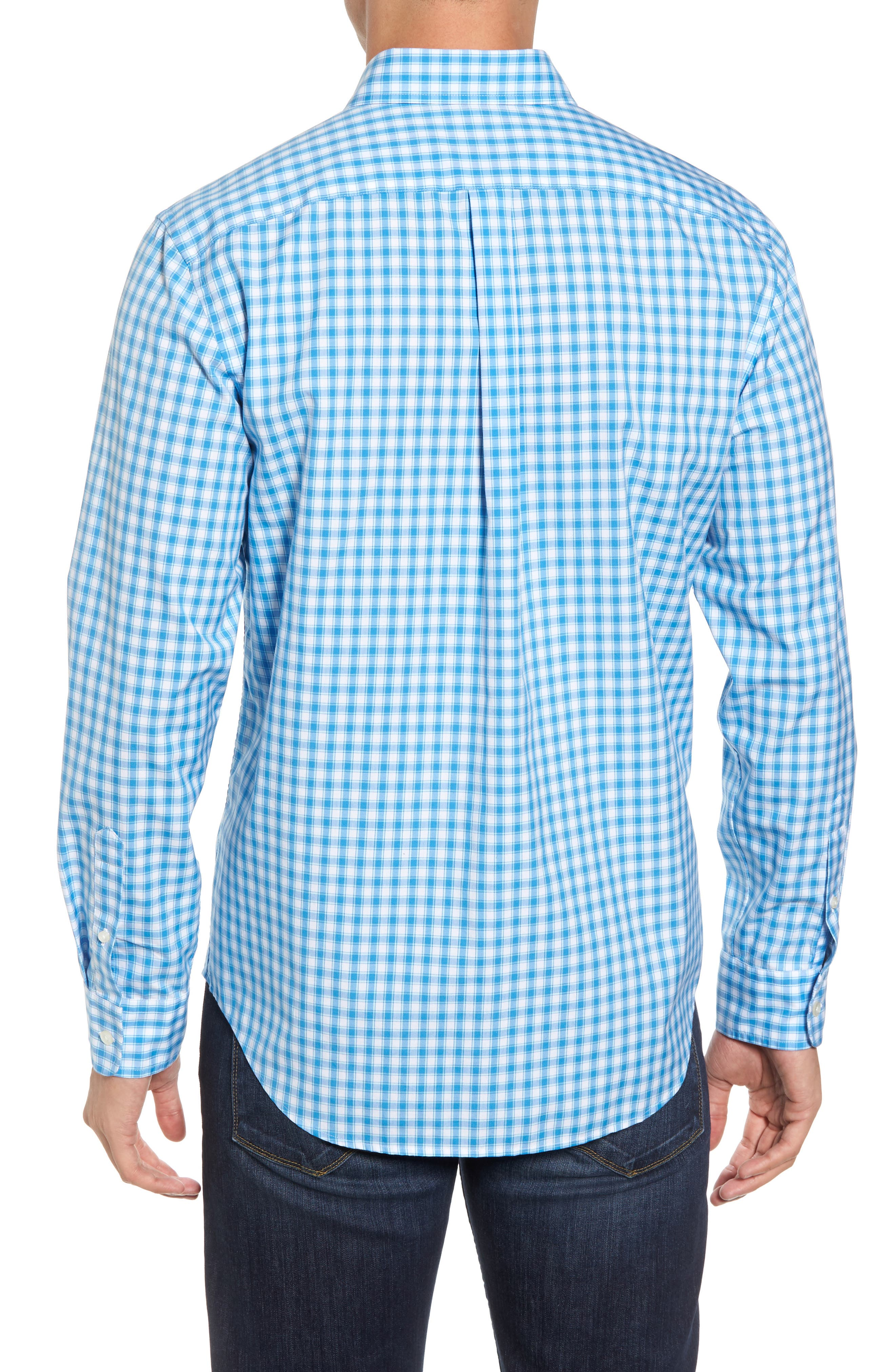 Alternate Image 2  - vineyard vines Tucker Classic Fit Check Sport Shirt