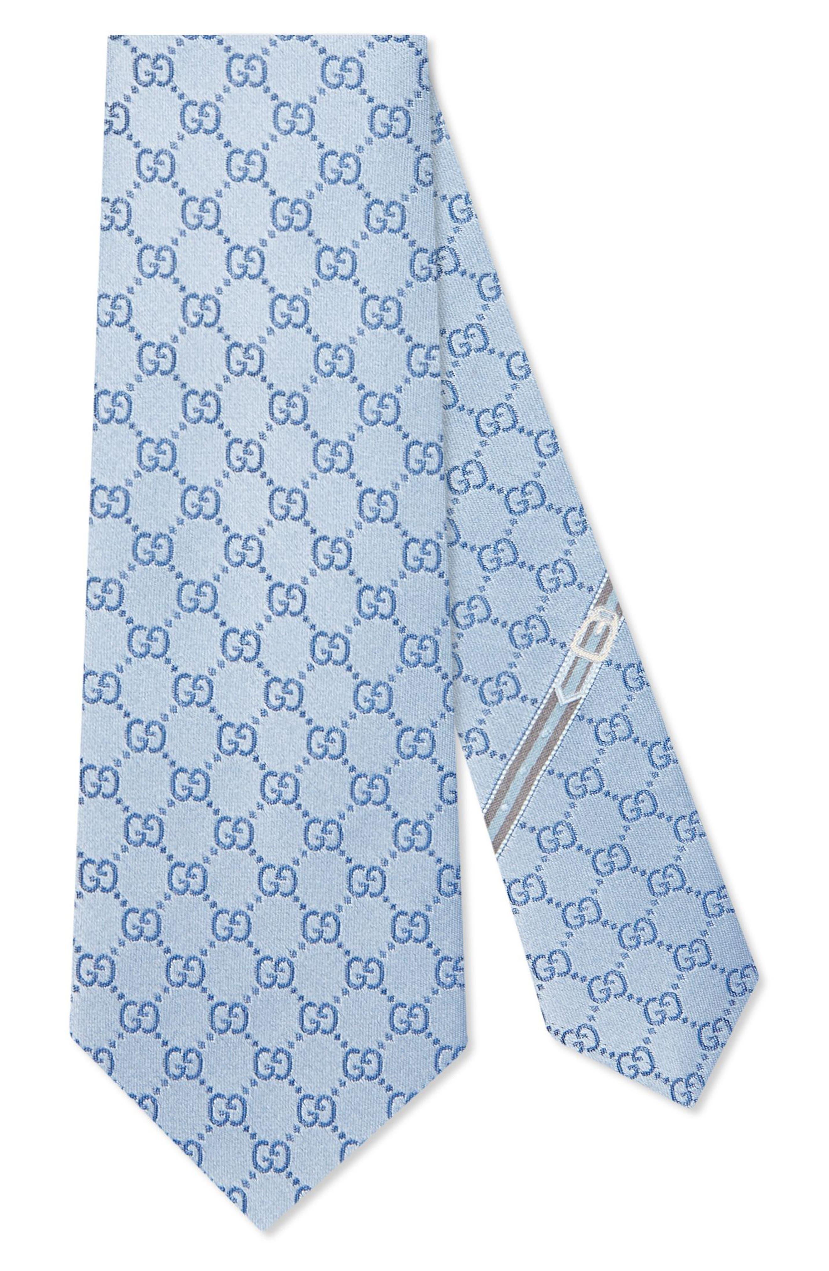 Gucci Fedra Silk Jacquard Tie