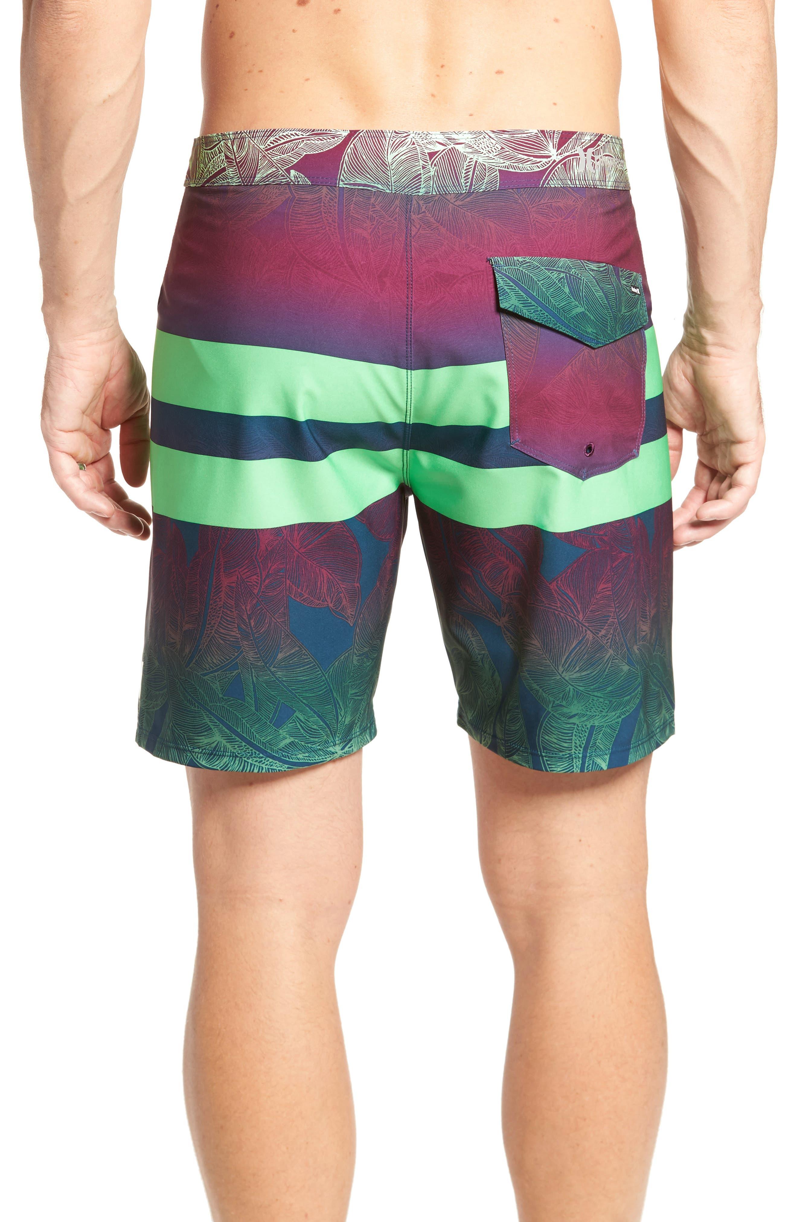 Alternate Image 2  - Hurley Phantom Blackball Board Shorts