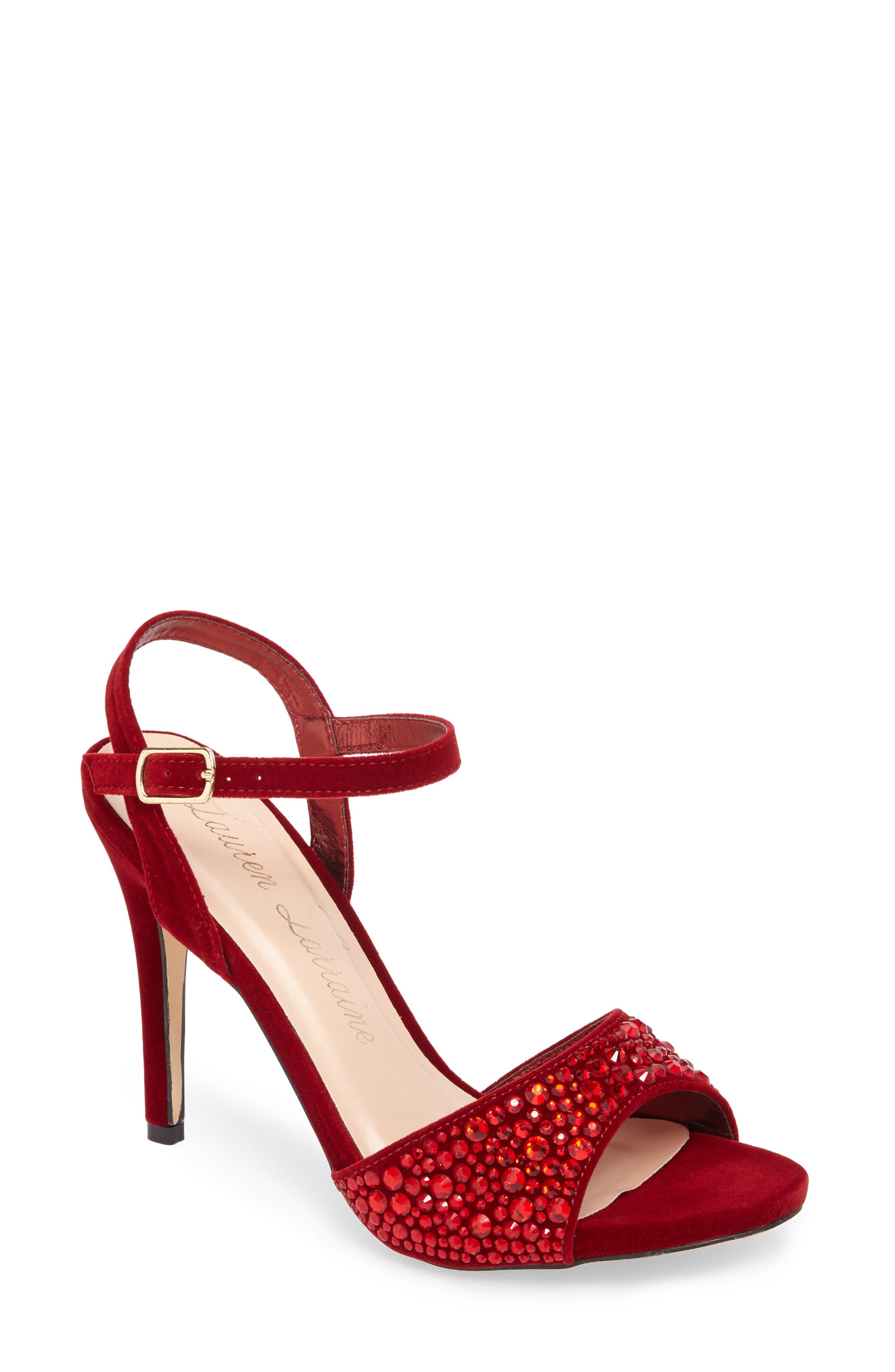 Lauren Lorraine Marti Embellished Sandal (Women)