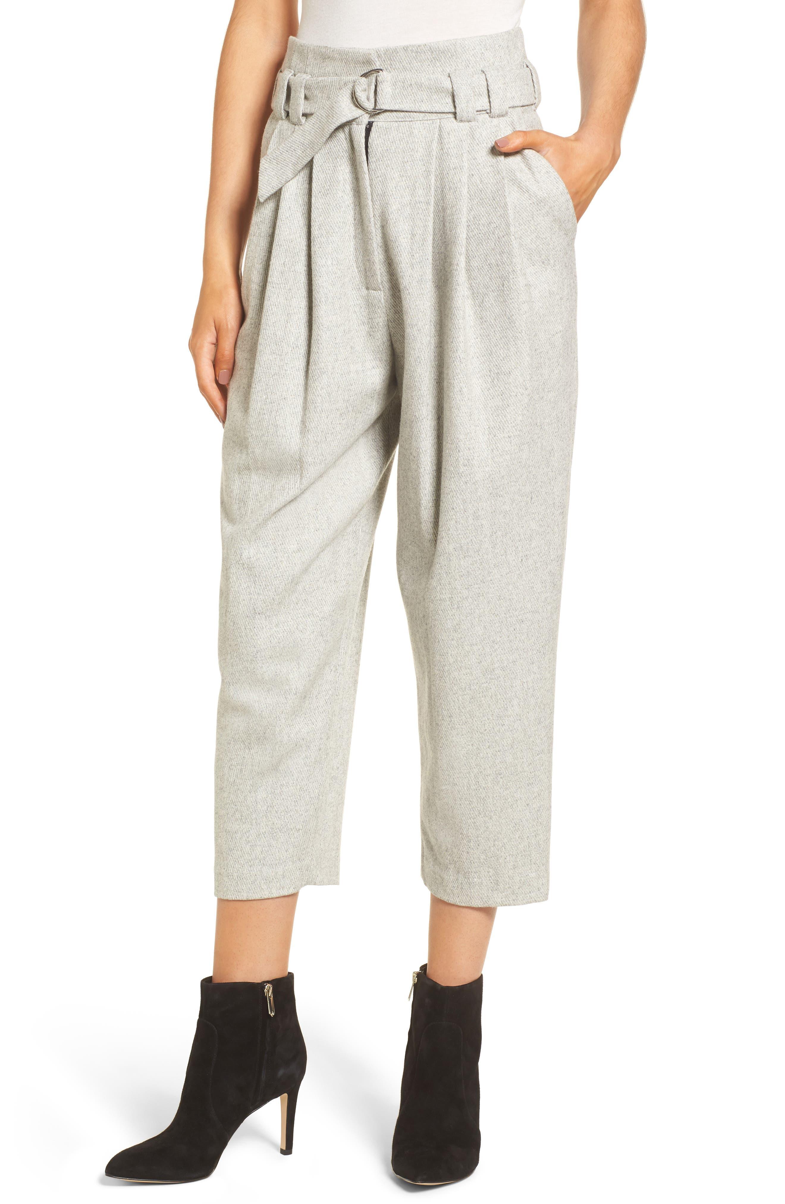 Alternate Image 1 Selected - Line & Dot Bon Crop Pants