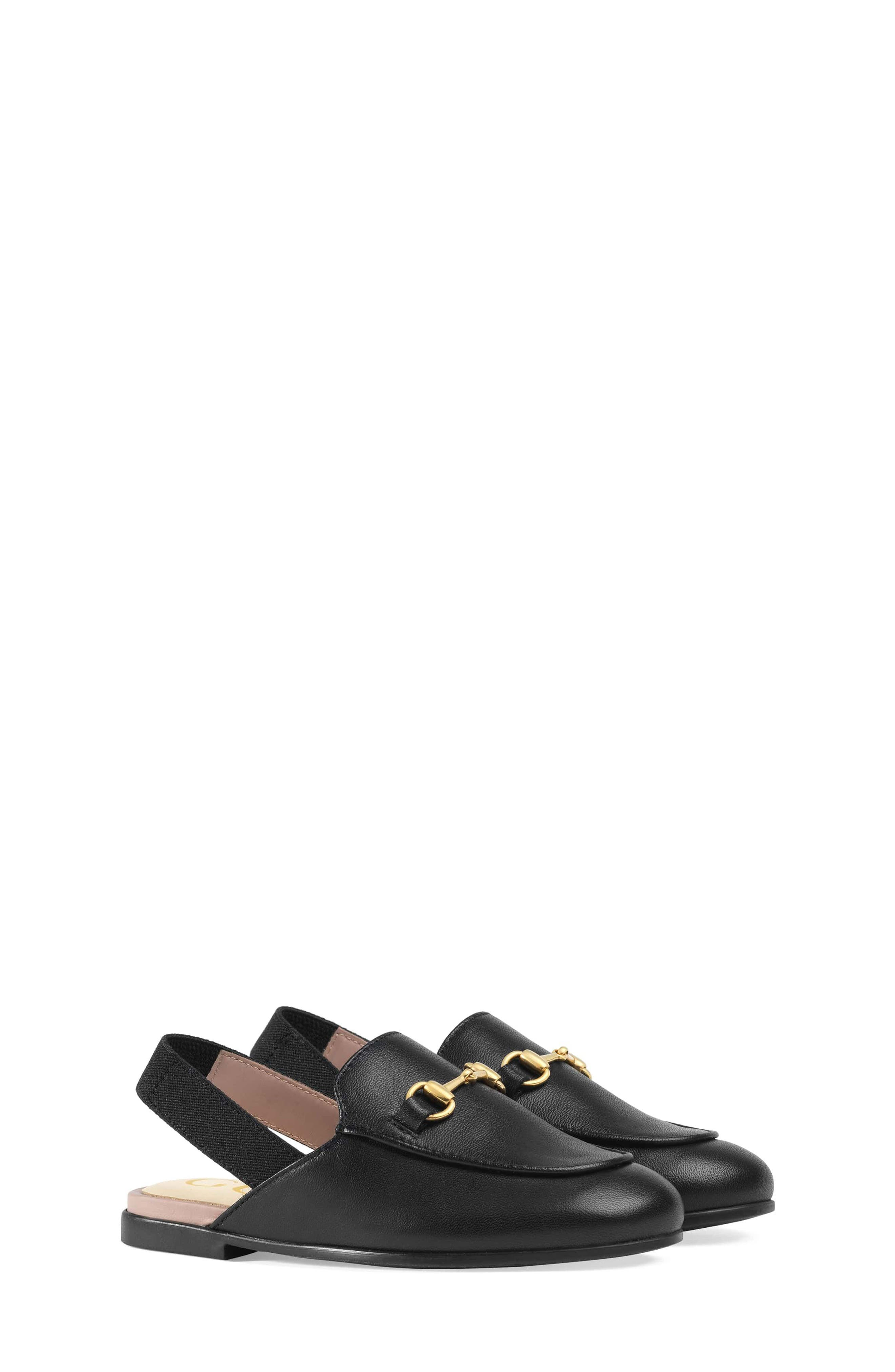 Gucci Princetown Loafer Mule (Toddler & Little Kid)